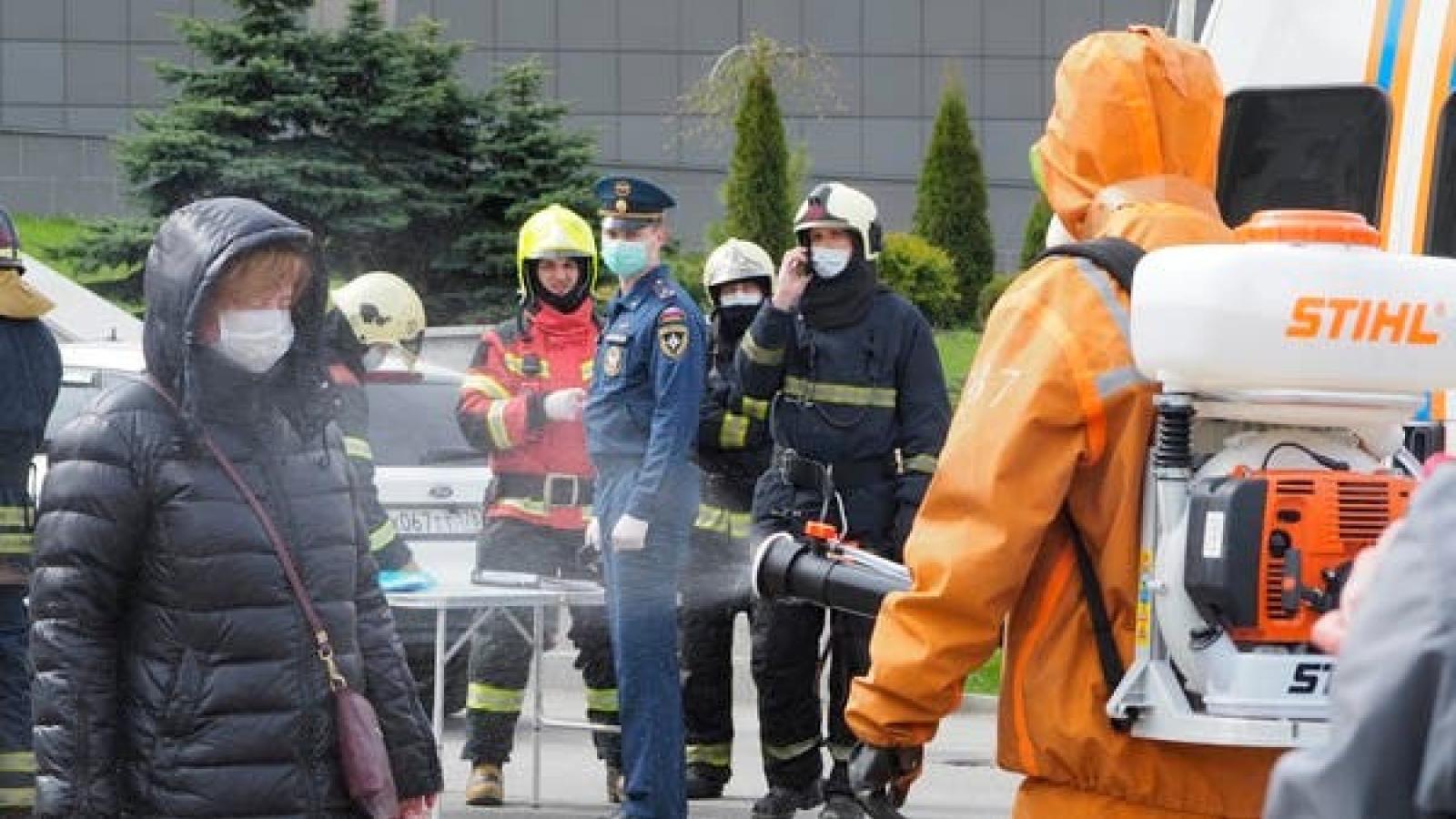 Nga: hỏa hoạn tại cơ sở điều trị cho bệnh nhân Covid-19