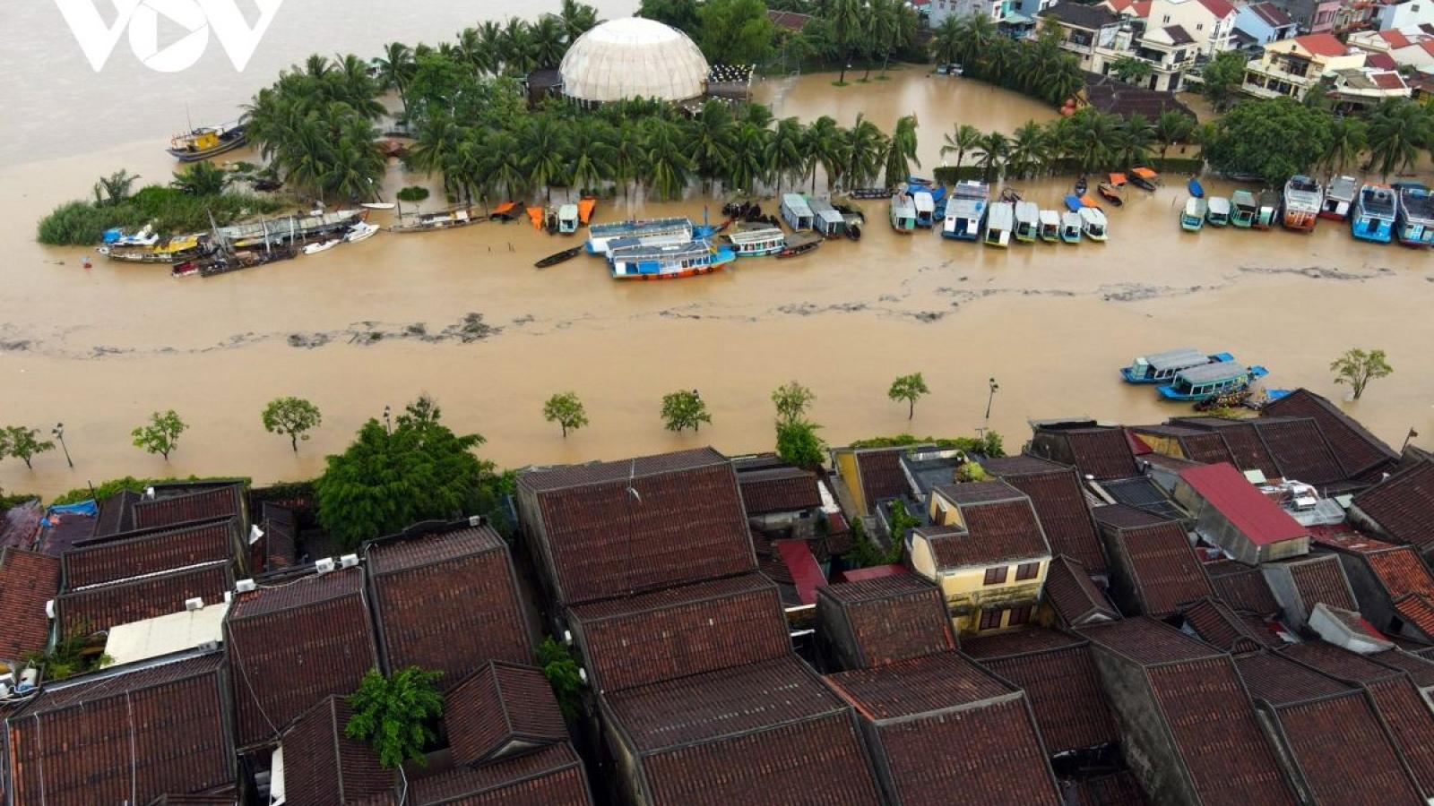 Thời tiết 9/10: Miền Trung tiếp tục có mưa lớn trên diện rộng