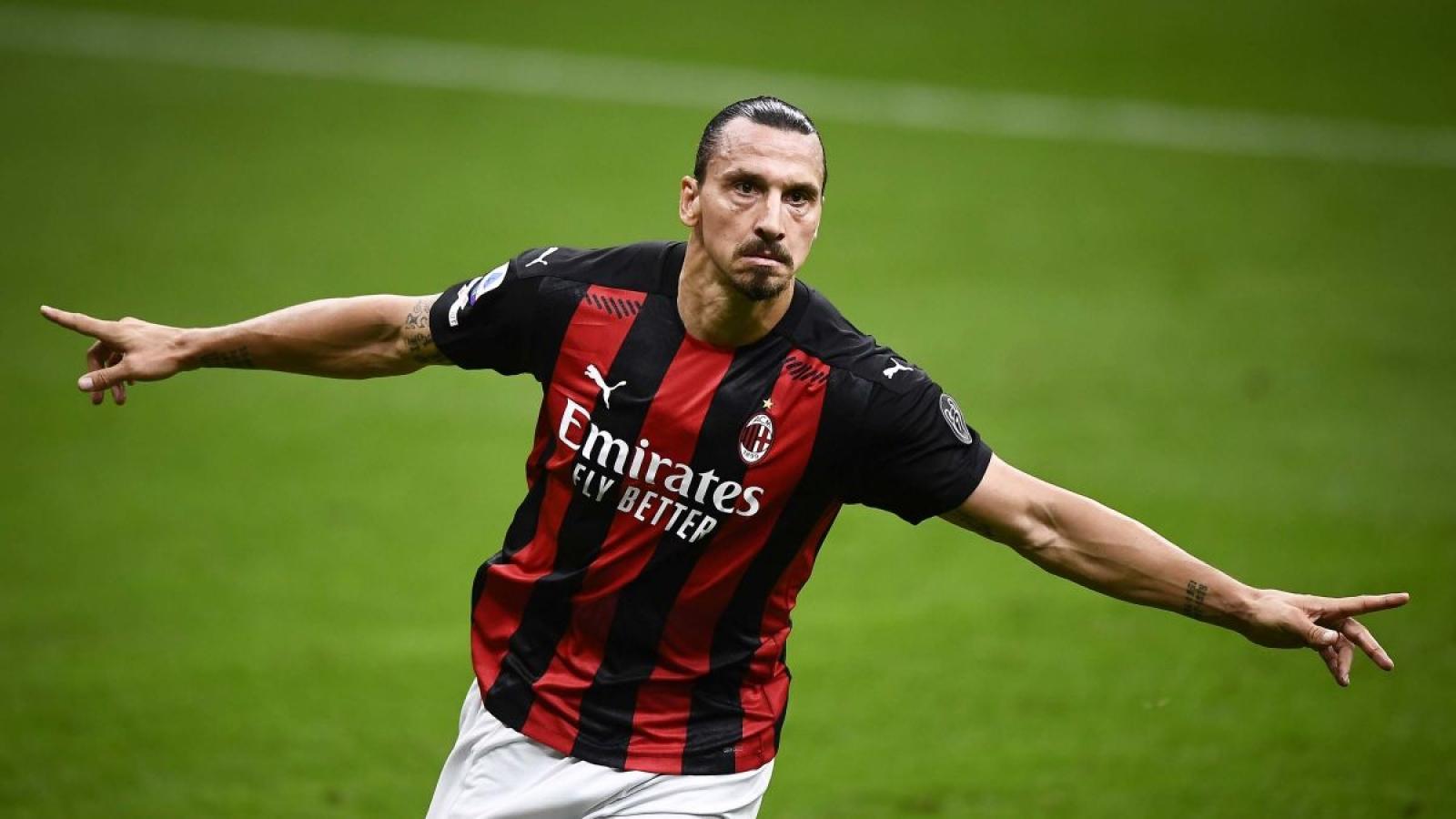 Zlatan Ibrahimovic khỏi Covid-19, sẵn sàng tham dự trận derby Milan