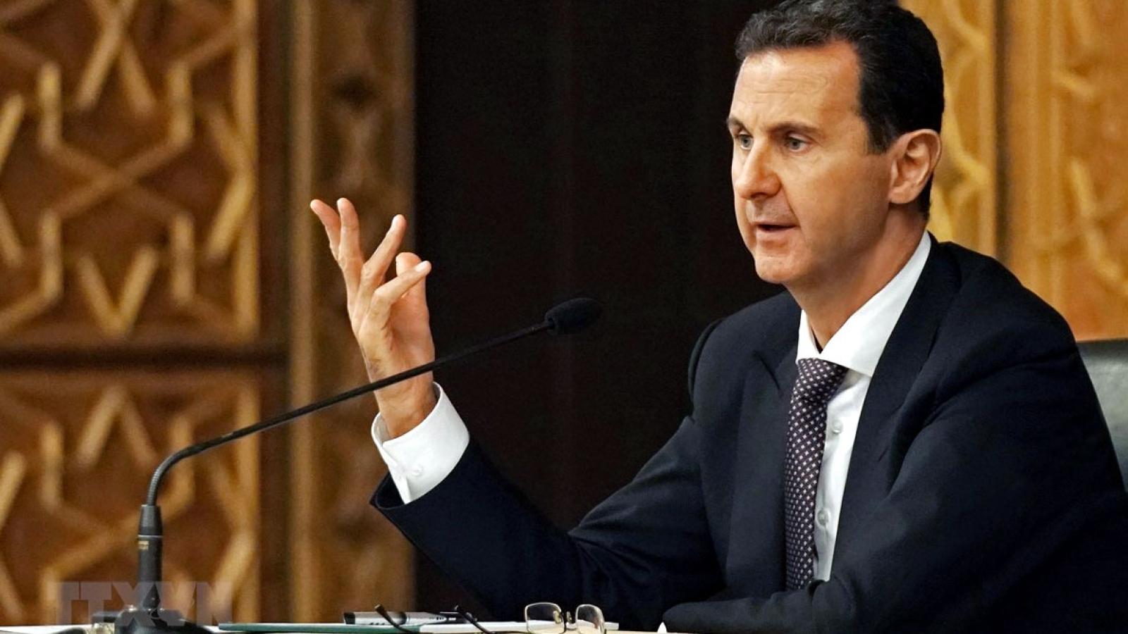 Mỹ trừng phạt 19 cá nhân và thực thể ủng hộ chính phủ Syria