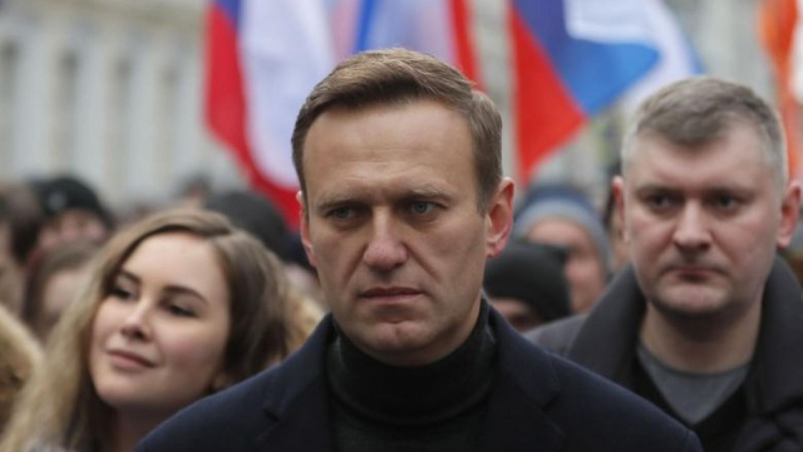 """Nga cáo buộc CIA """"làm việc"""" với nhân vật đối lập Navalny"""