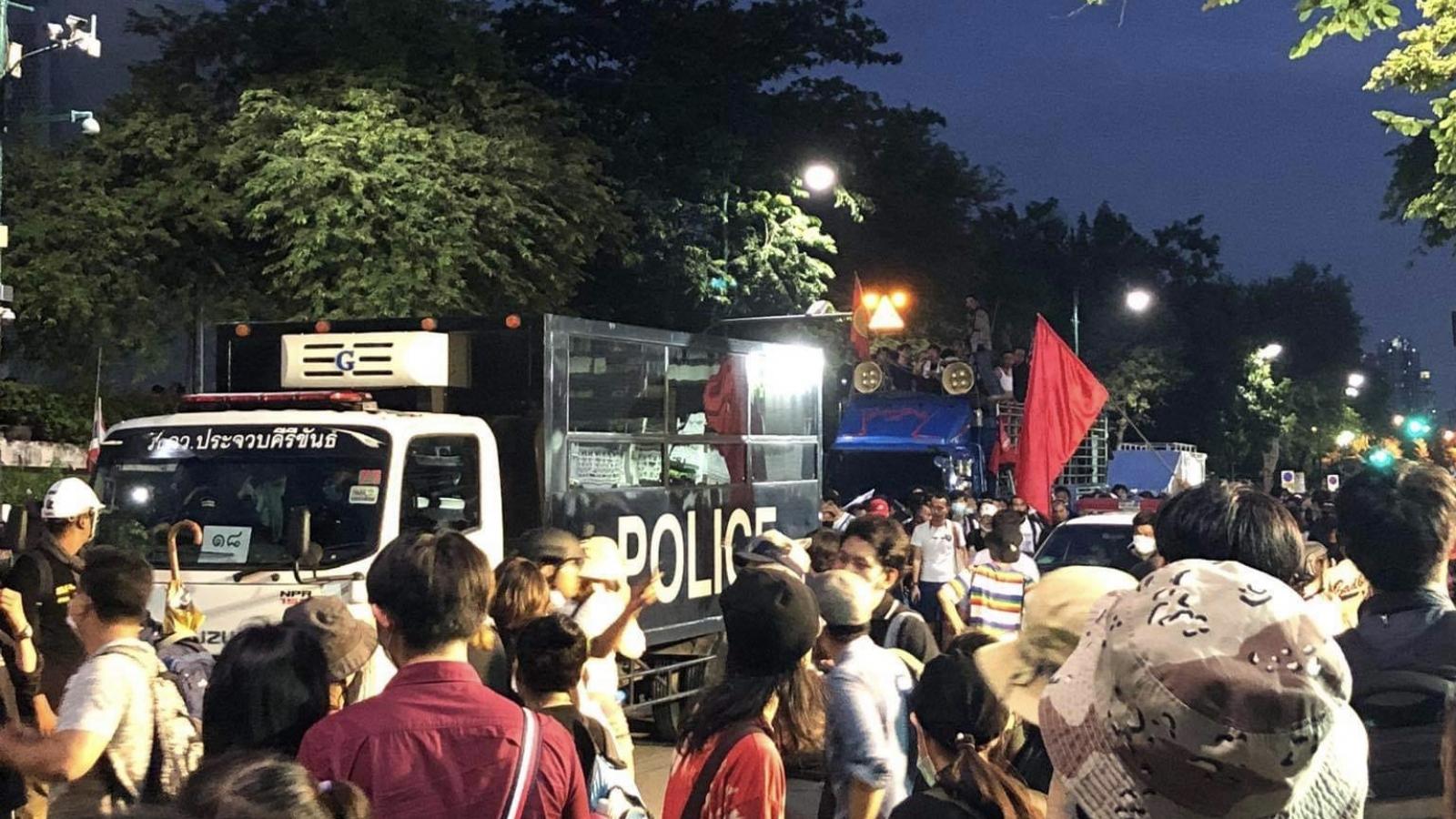 Thái Lan bắt giữ 20 người biểu tình