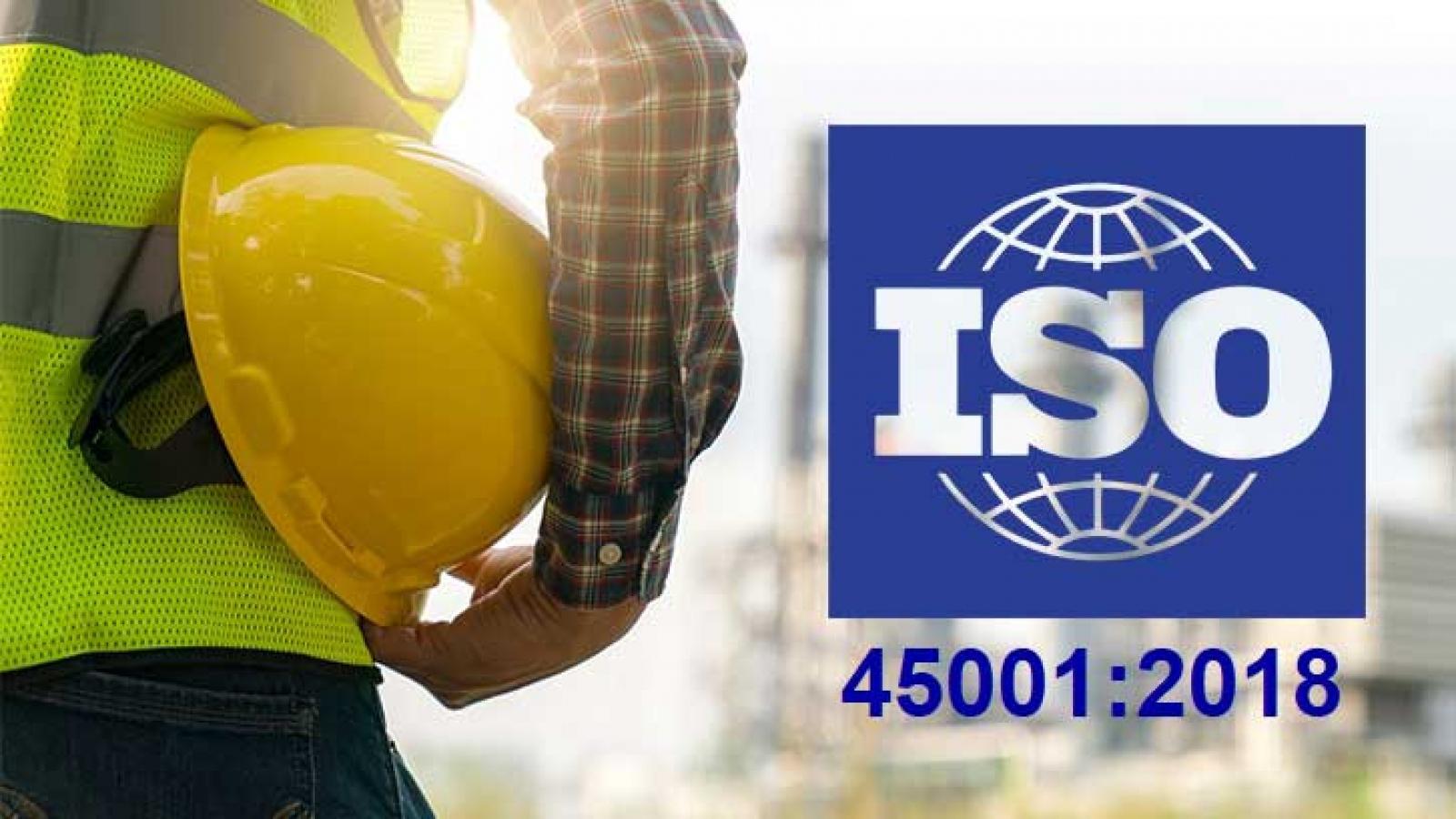 Hệ thống quản lý an toàn và sức khỏe nghề nghiệp ISO 45001:2018