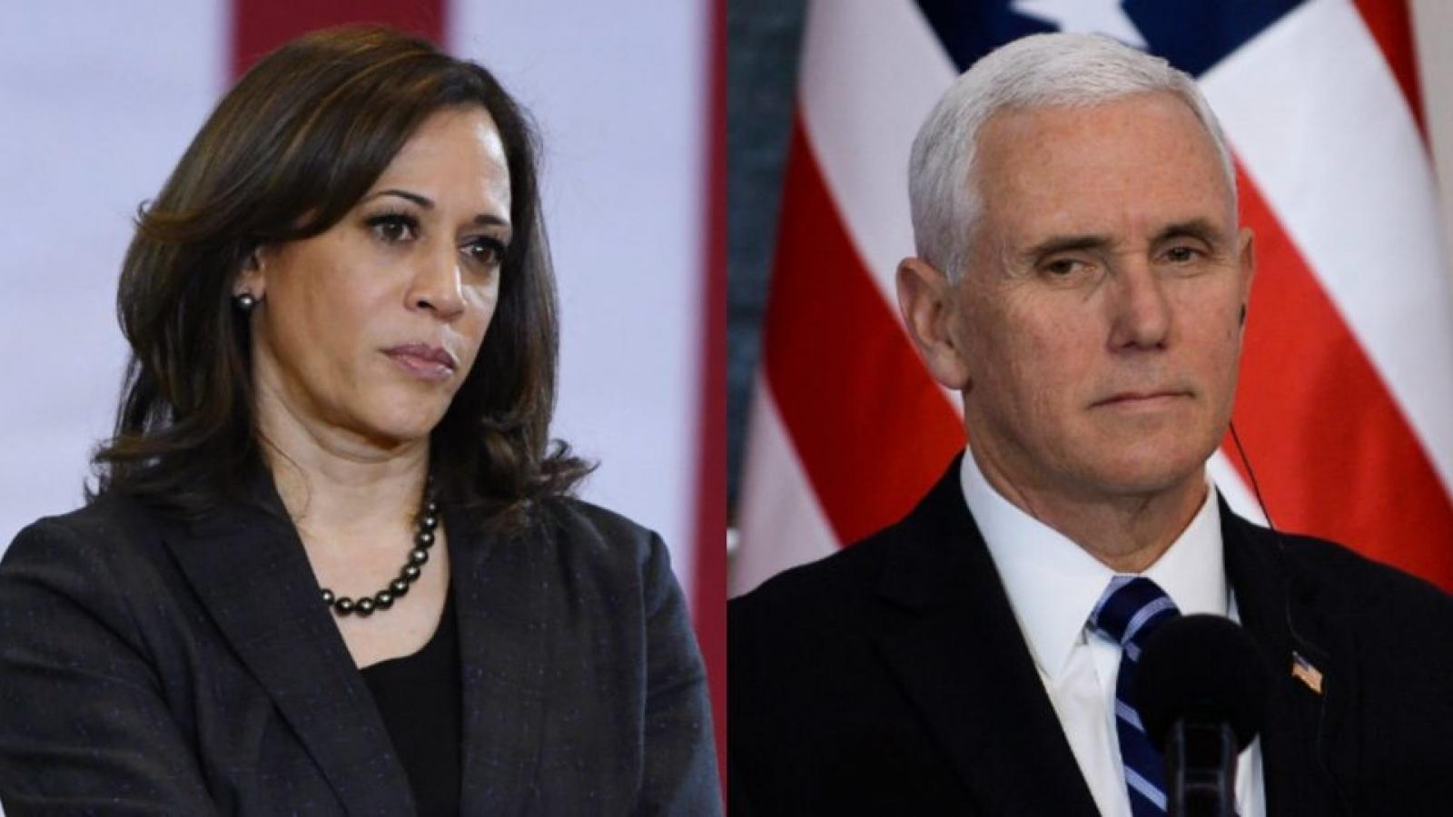 Hai ứng cử viên phó tổng thống Mỹ âm tính với SARS-CoV-2 trước phiên tranh luận