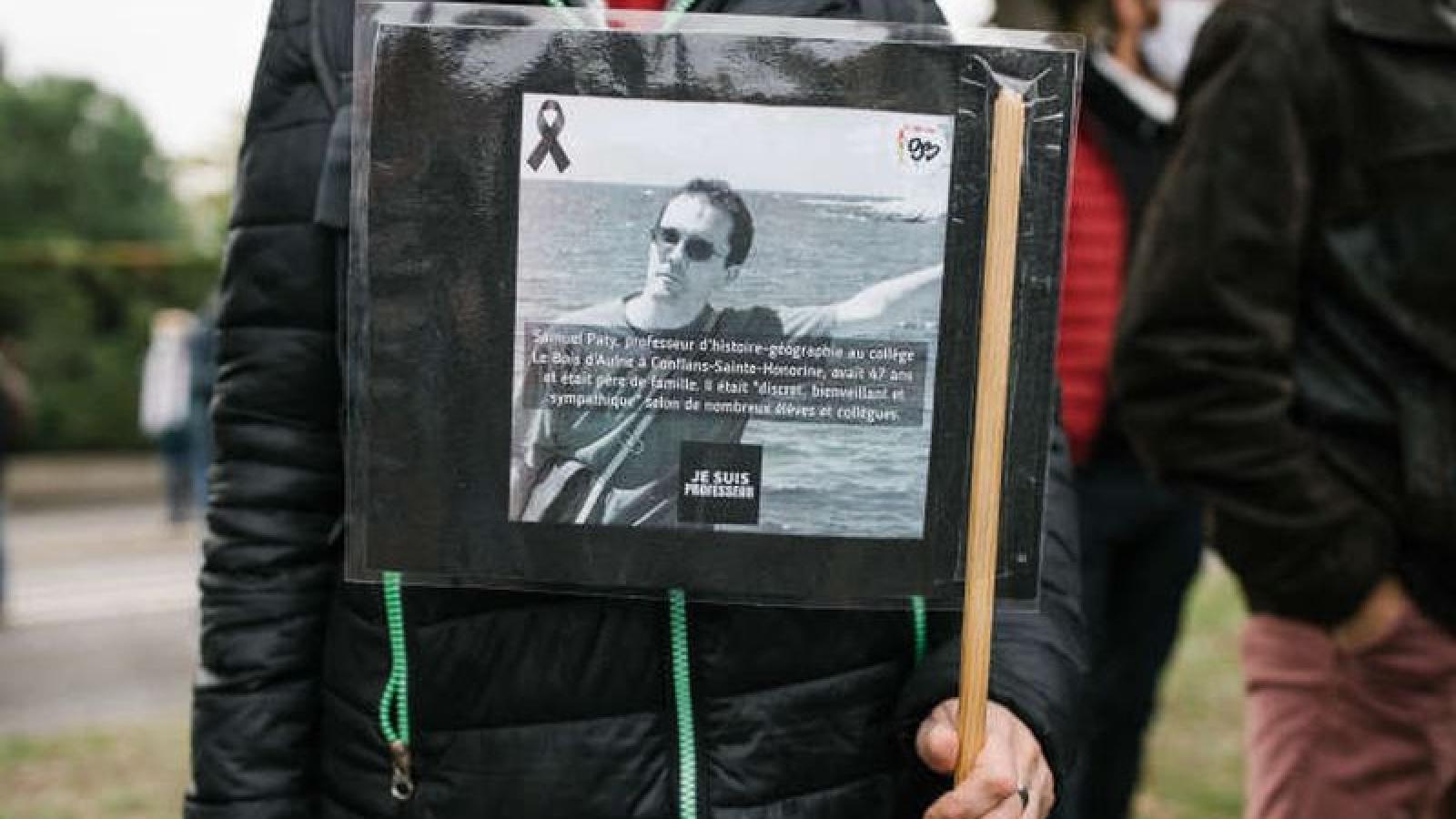 Pháp tạm giữ 15 người liên quan vụ giáo viên bị chặt đầu