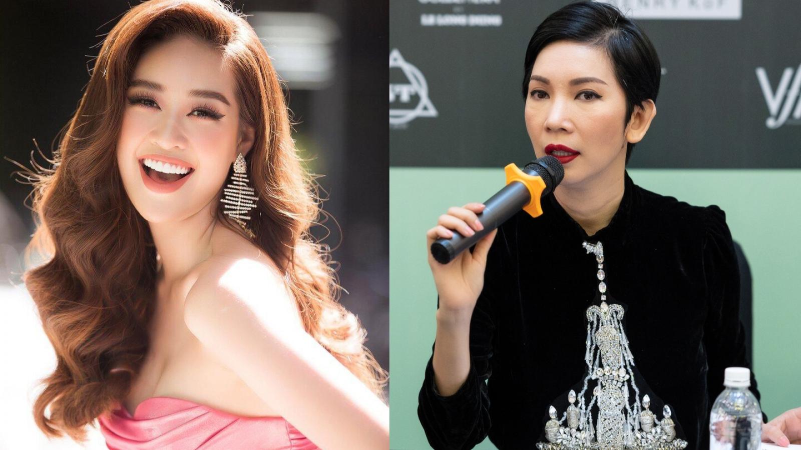 """Hoa hậuKhánh Vânlà """"nàng thơ"""" của Xuân Lantrong show diễn mới"""