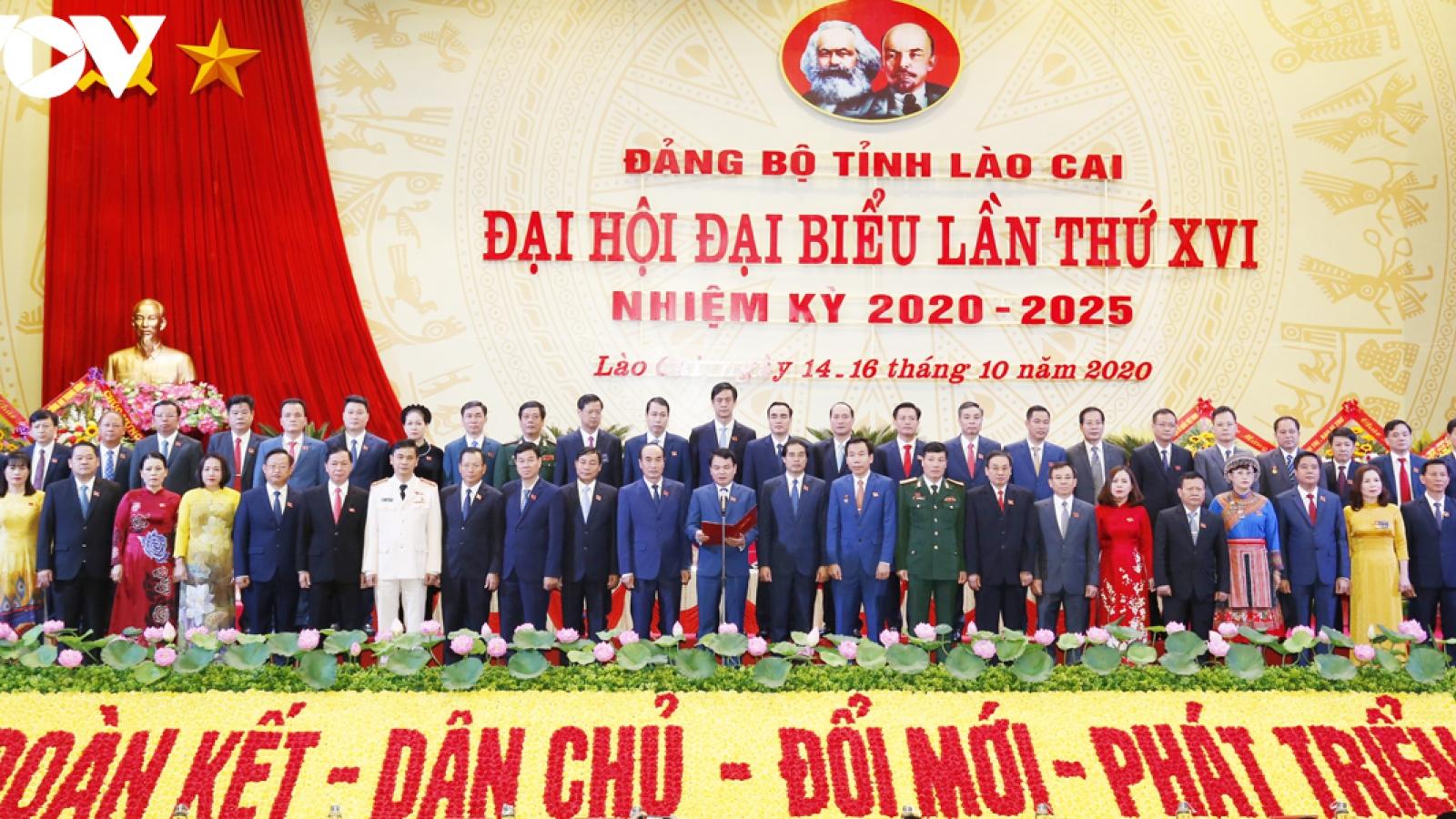 """Tân Bí thư Tỉnh ủy Lào Cai: """"Người Lào Cai có quyền tự hào nhưng không được tự mãn"""""""
