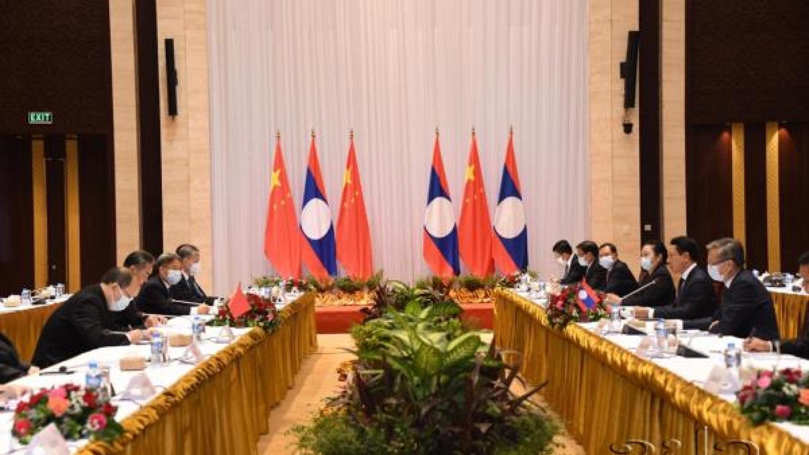 Trung Quốc và Lào thảo luận các biện pháp tăng cường quan hệ song phương