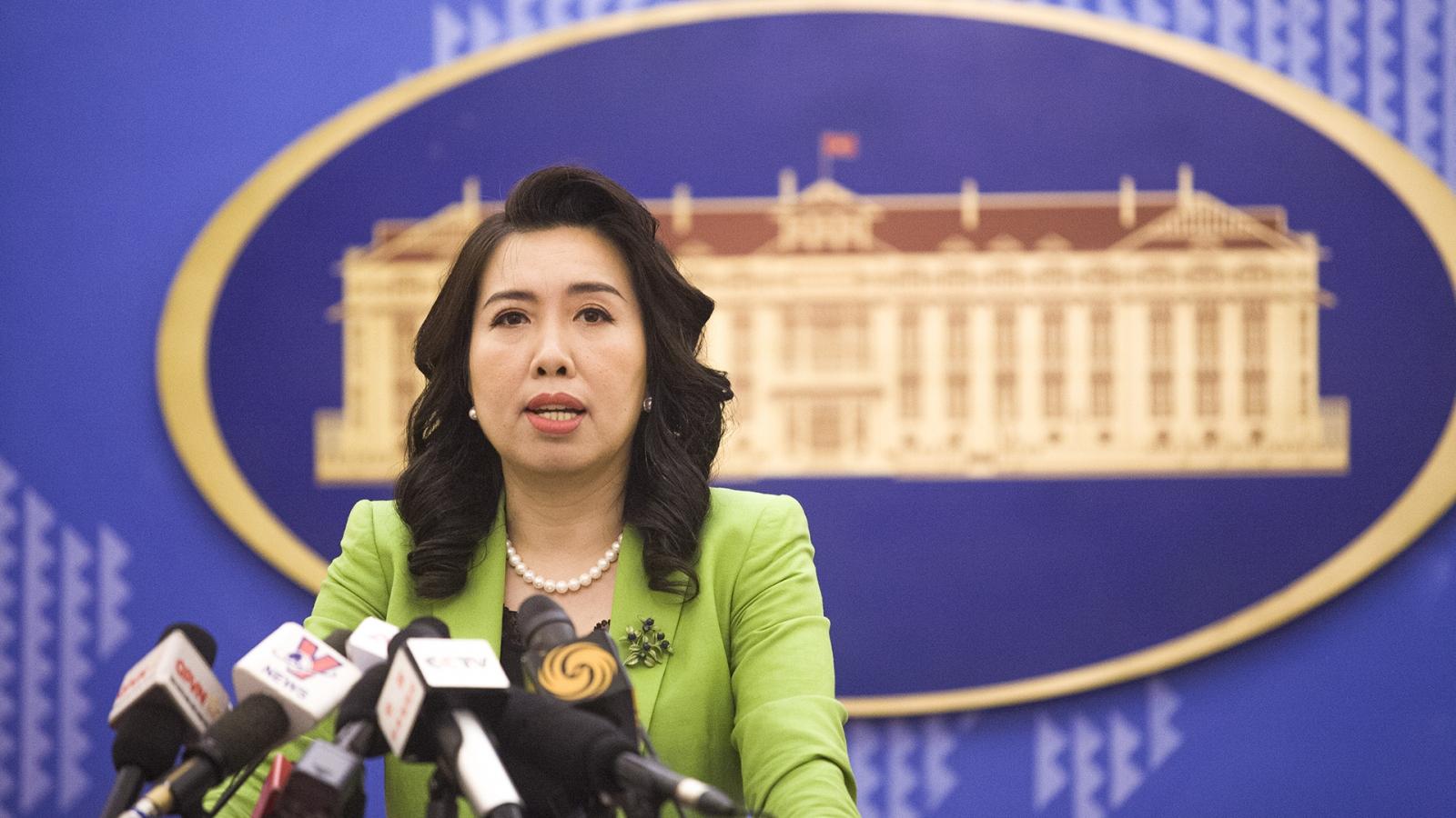Việt Nam lên tiếng việc Anh, Pháp, Đức gửi công hàm chung về Biển Đông lên LHQ