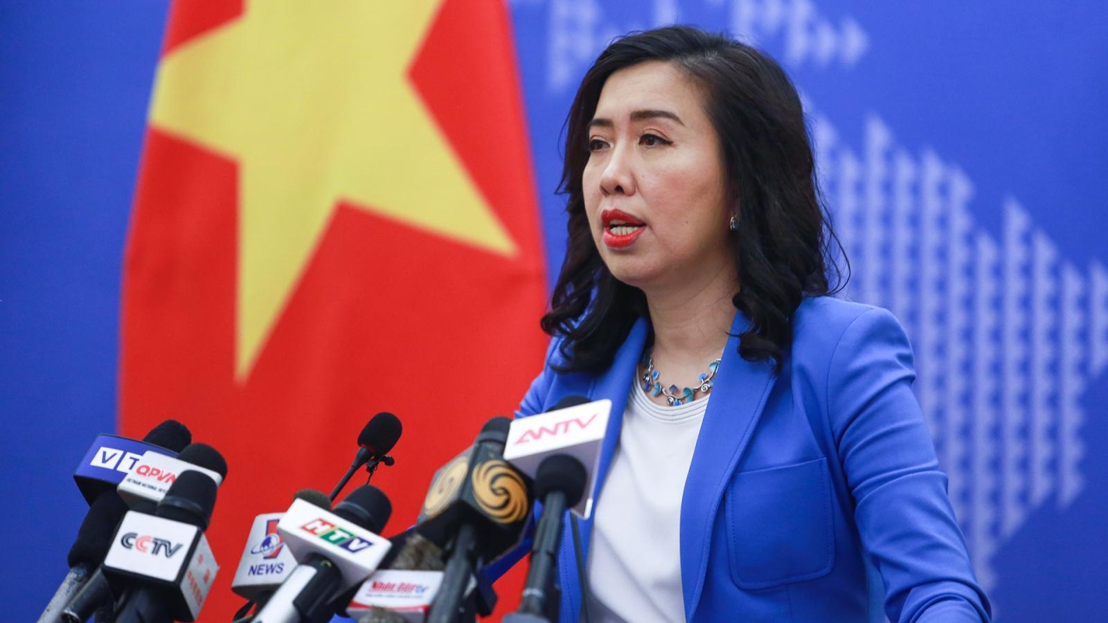 Việt Nam phản đối hành vi của Trung Quốc ở cái gọi là thành phố Tam Sa