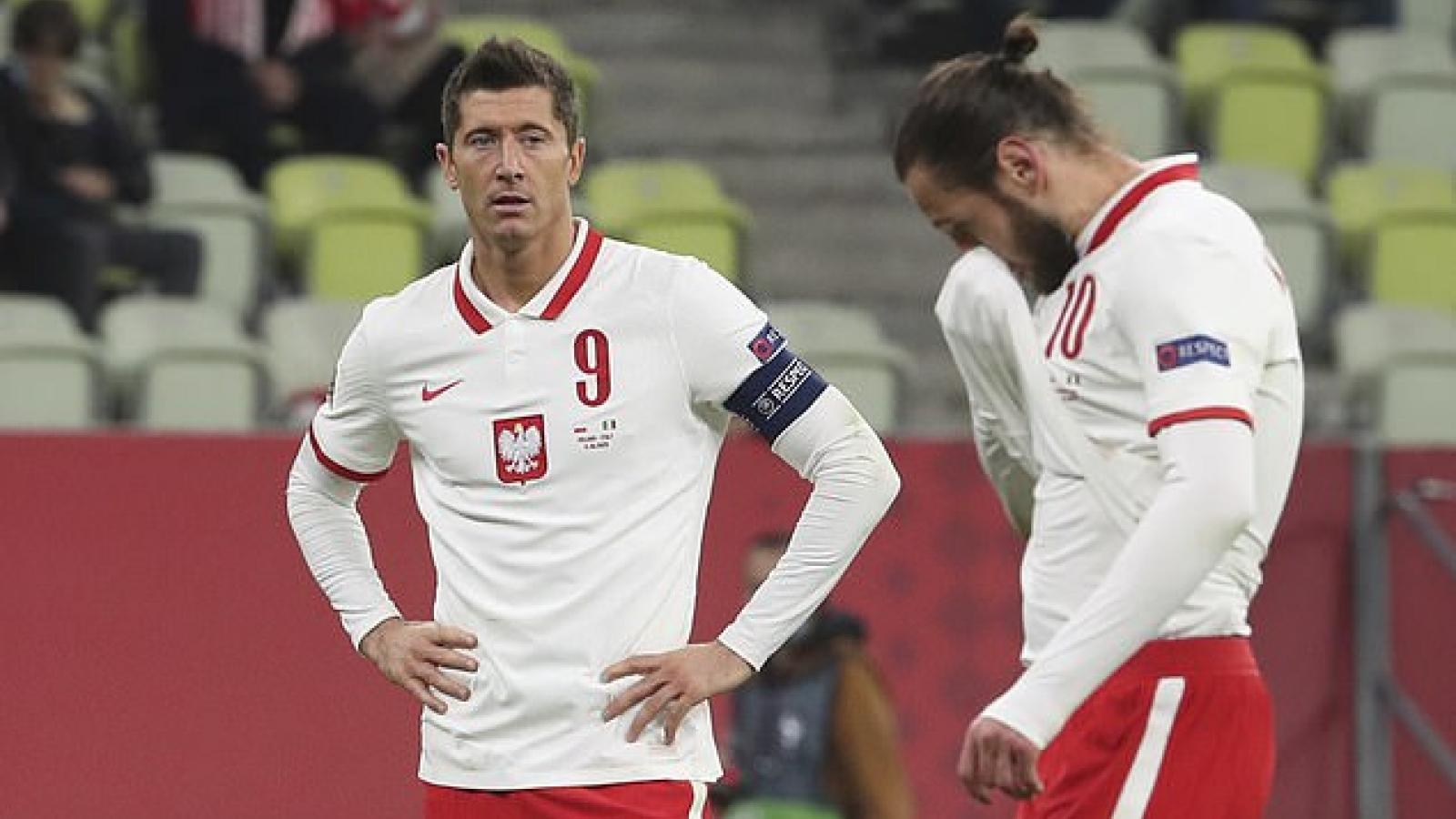 Vô hiệu hóa Lewandowski, Italia vẫn bị Ba Lan cầm hòa đáng tiếc