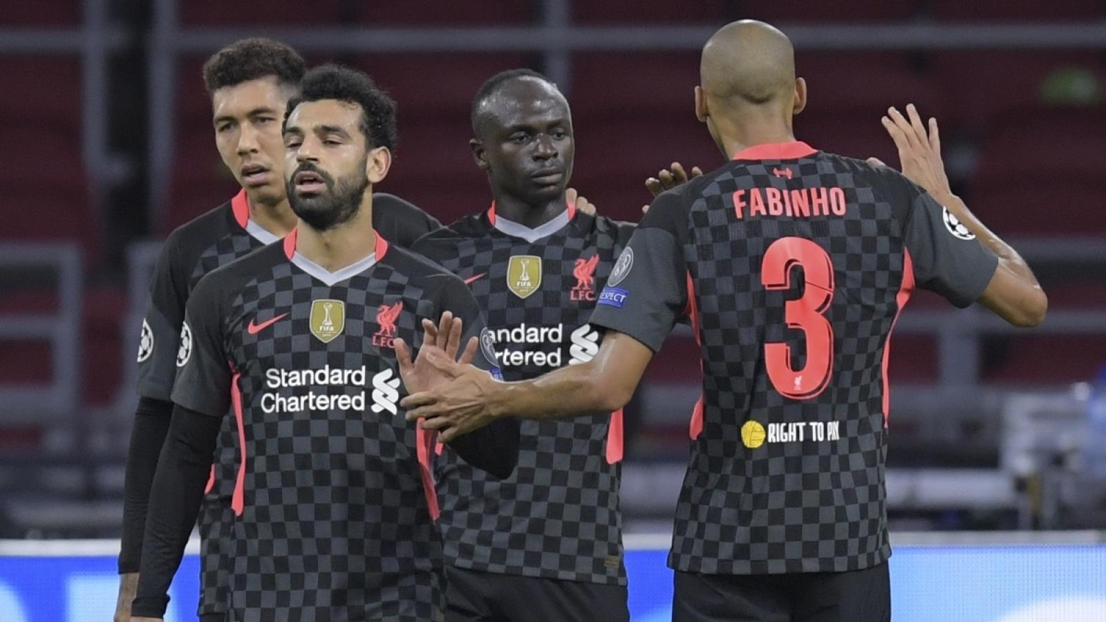 Không Van Dijk, Liverpool thắng vất vả Ajax nhờ bàn phản lưới
