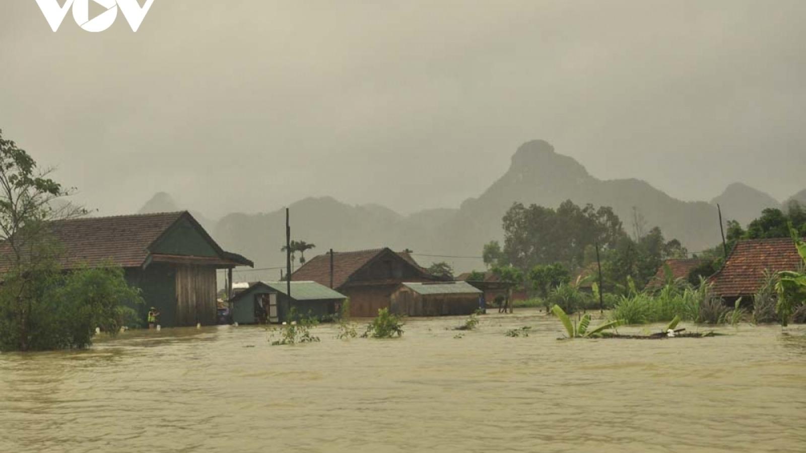 Đêm ngày 24 rạng sáng ngày 25 dự báo mưa lớn sẽ trở lại miền Trung