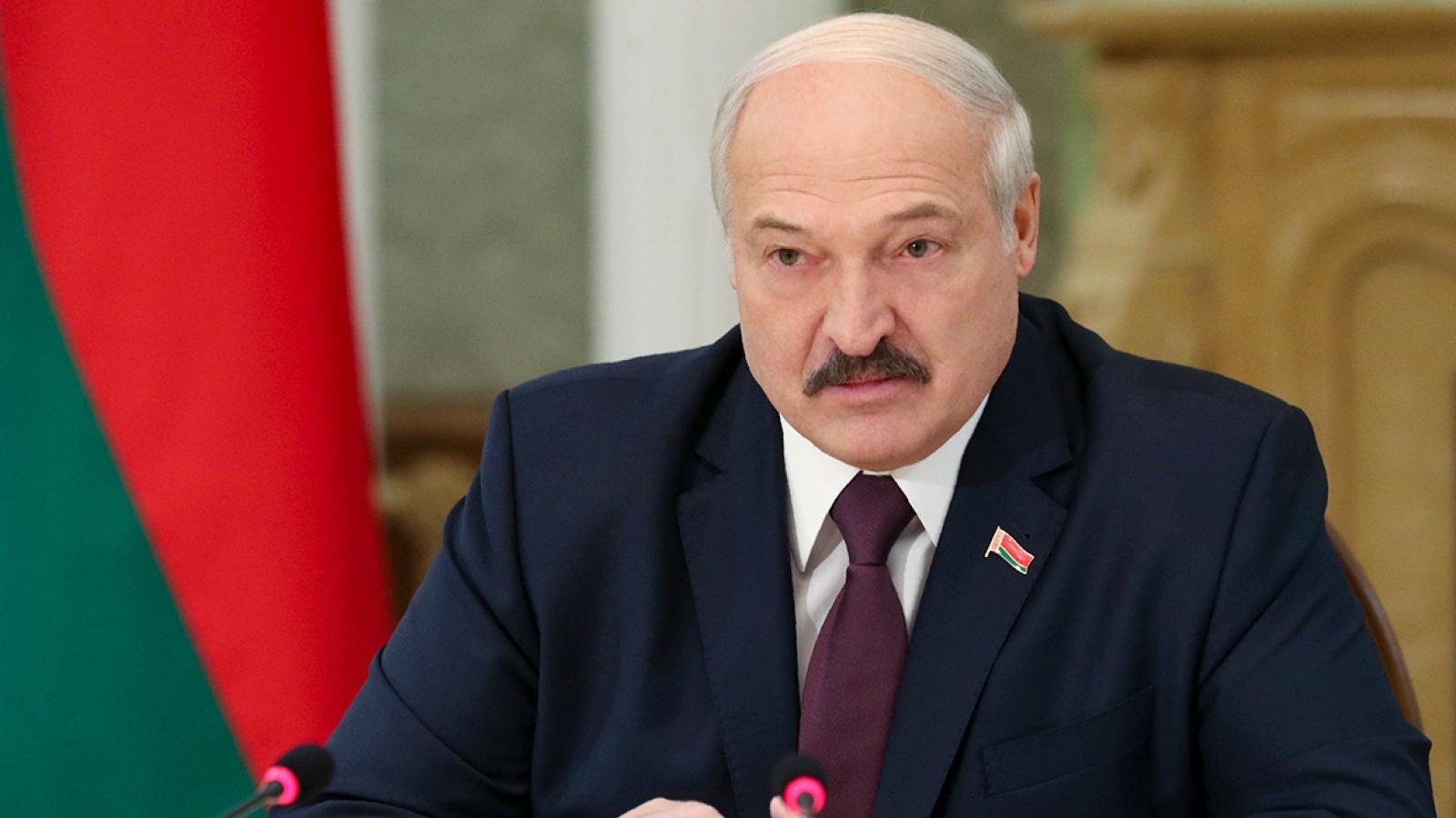 Belarus và Nga sẵn sàng phối hợp để đáp trả các mối đe dọa từ bên ngoài