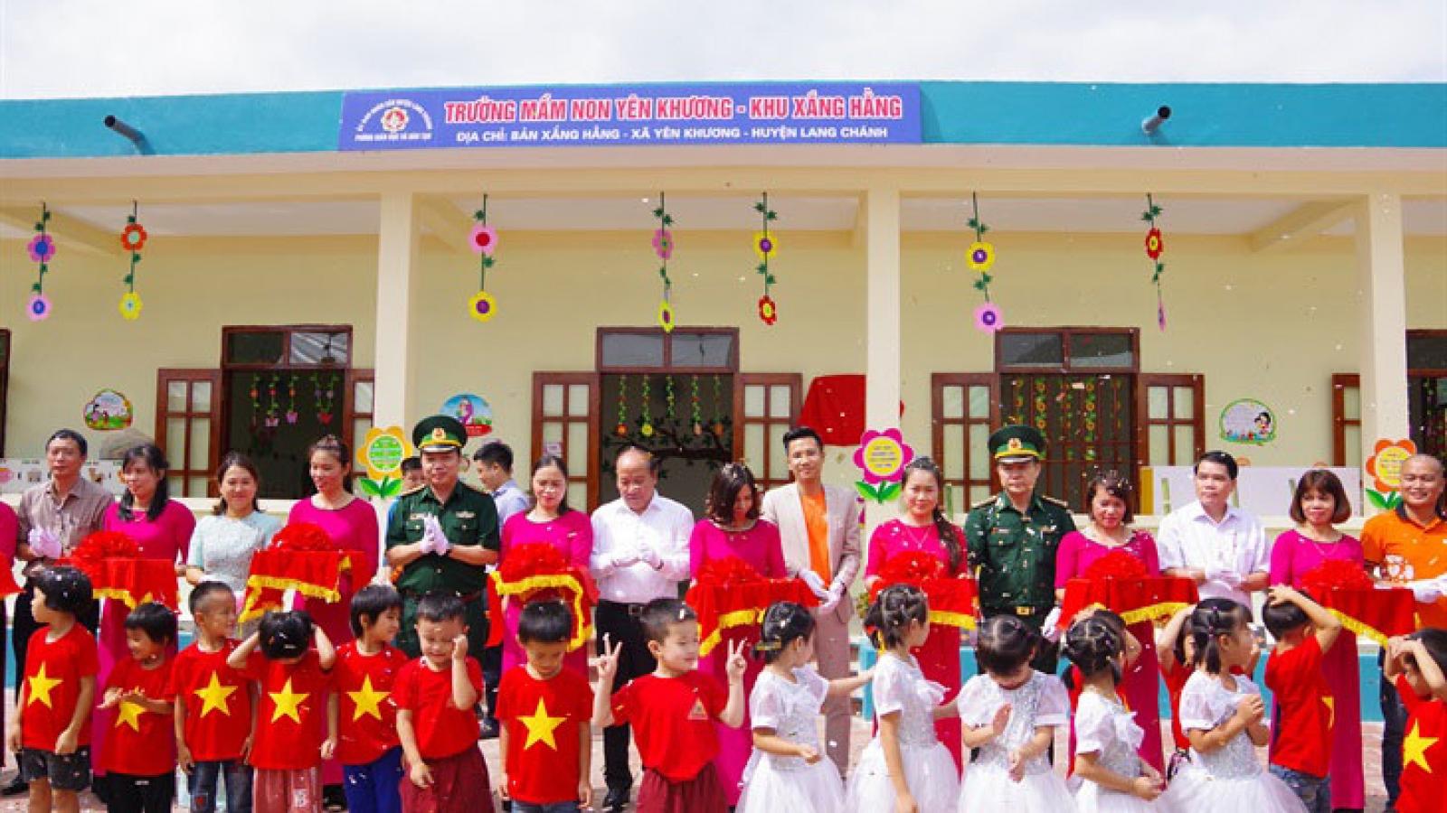 VOV và nhà tài trợ khánh thành điểm trường thứ 2 tại Lang Chánh, Thanh Hoá