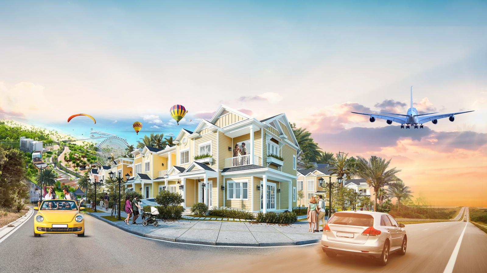 Bất động sản du lịch Bình Thuận bứt phá cùng hạ tầng giao thông