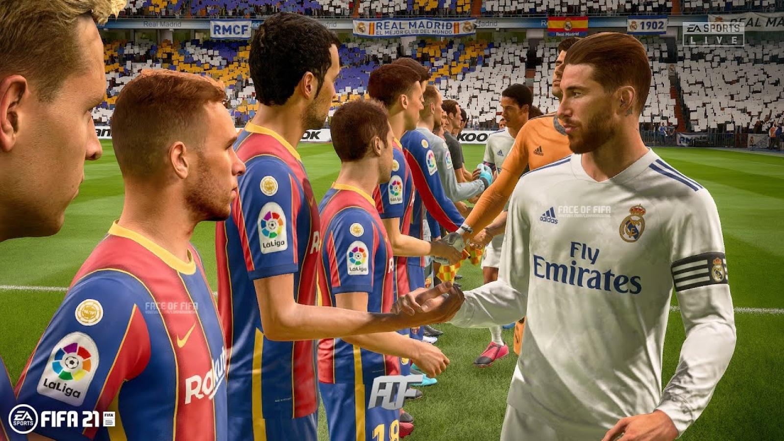 VIDEO: Dự đoán kết quả trận Siêu kinh điển Barca - Real bằng game FIFA 21