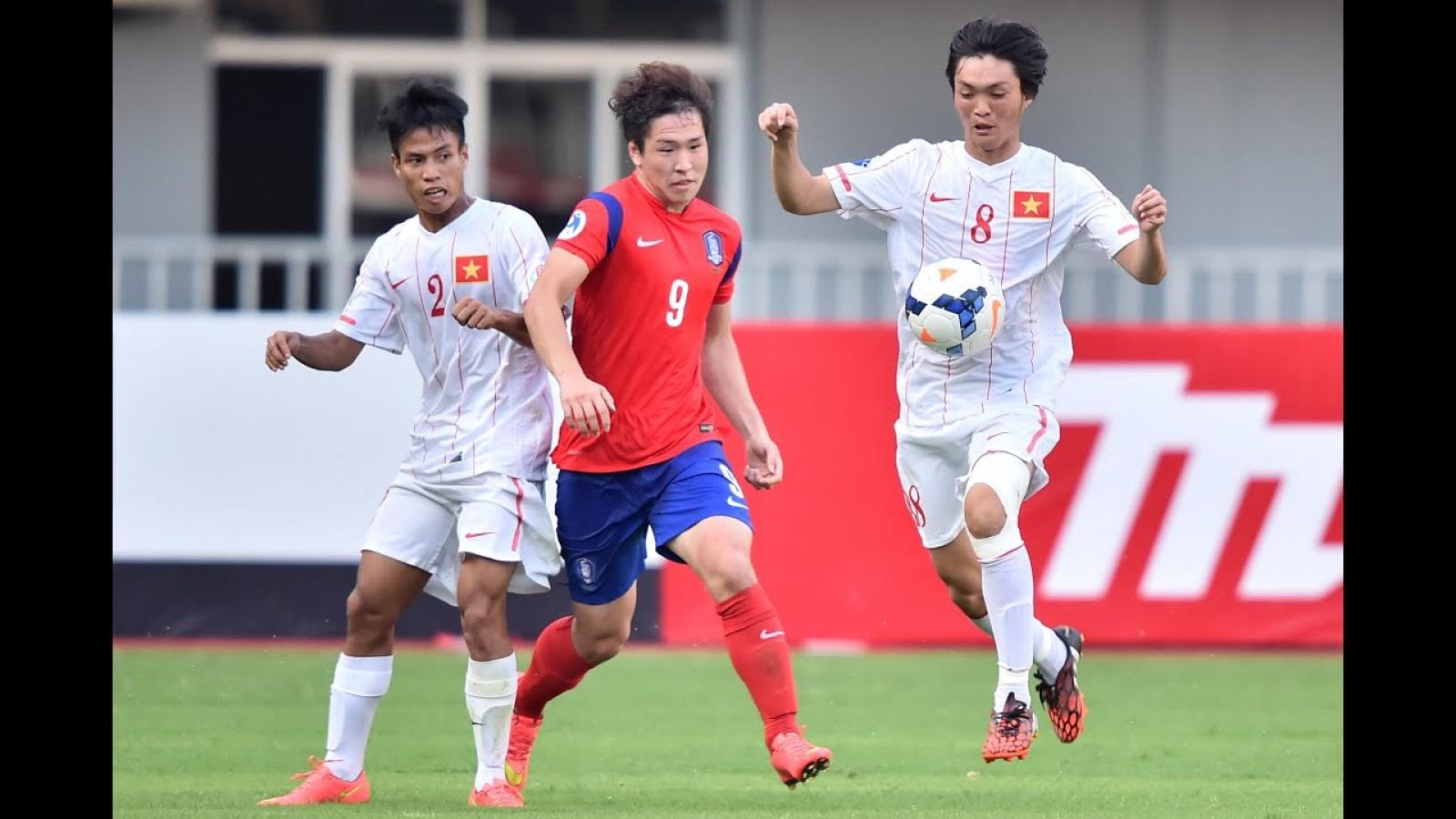 """Ngày này năm xưa: Công Phượng, Tuấn Anh cùng U19 Việt Nam """"thảm bại"""" trước Hàn Quốc"""