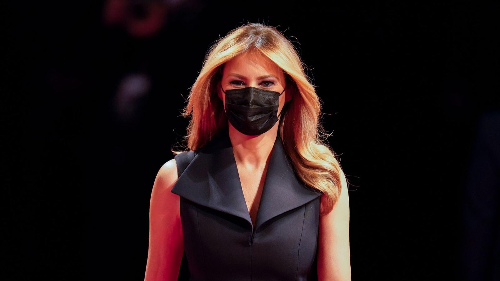 Đệ nhất phu nhân Melania Trump sẽ bỏ phiếu đúng Ngày Bầu cử 3/11