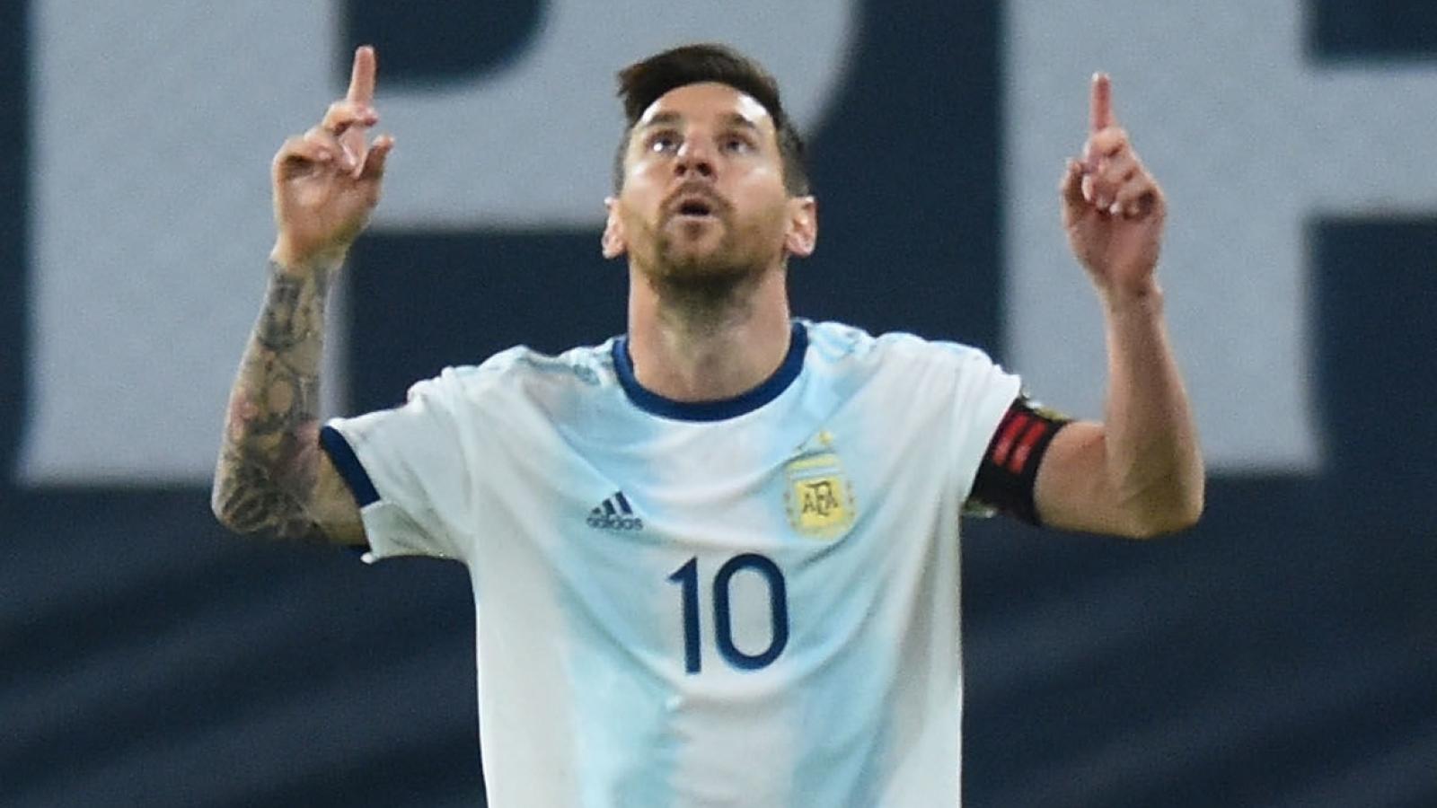 Messi tỏa sáng, Argentina ra quân thuận lợi ở vòng loại World Cup 2022