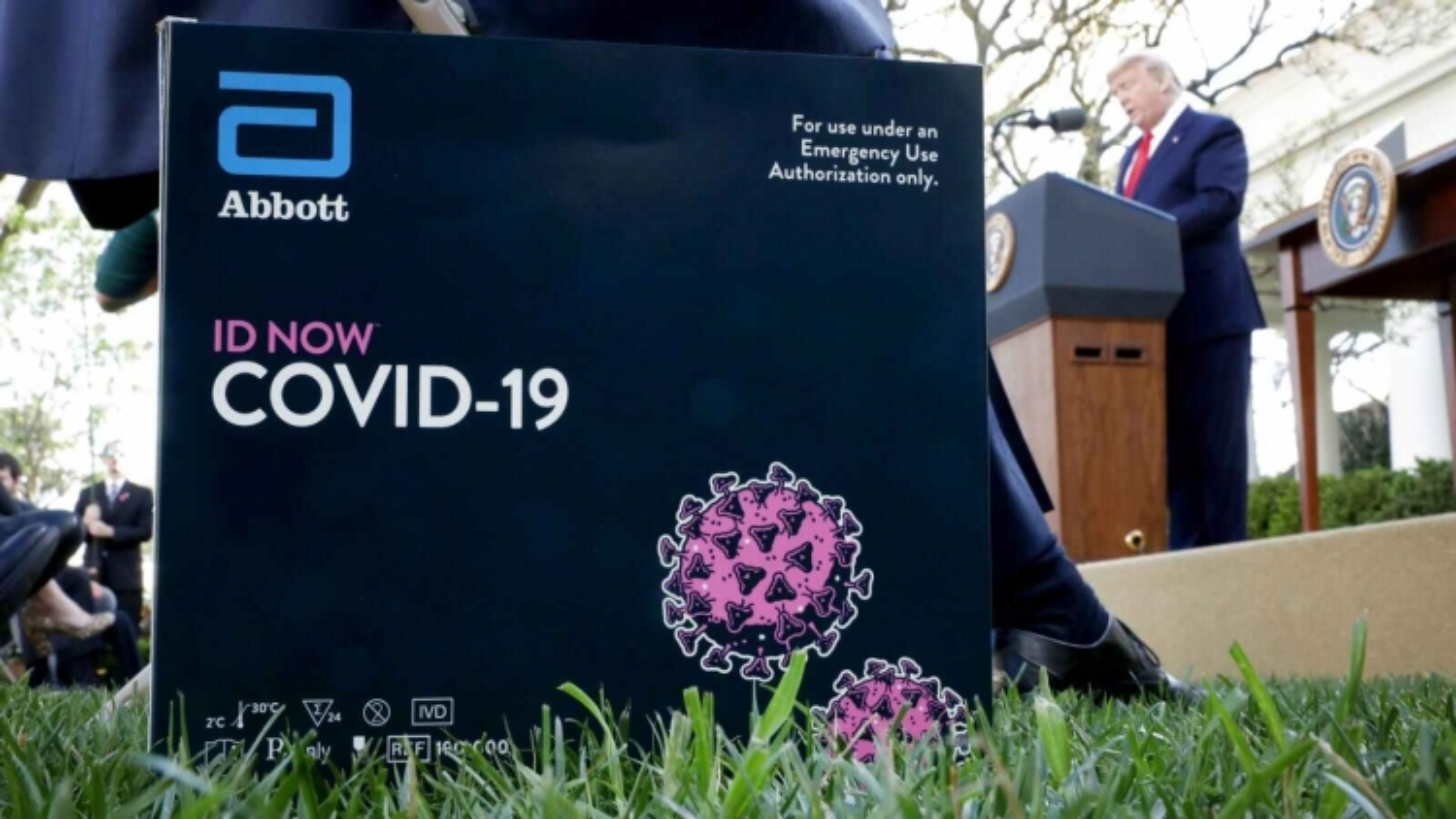 Hãng Abbott được cấp phép sử dụng khẩn cấp thêm một loại xét nghiệm kháng thể Covid-19