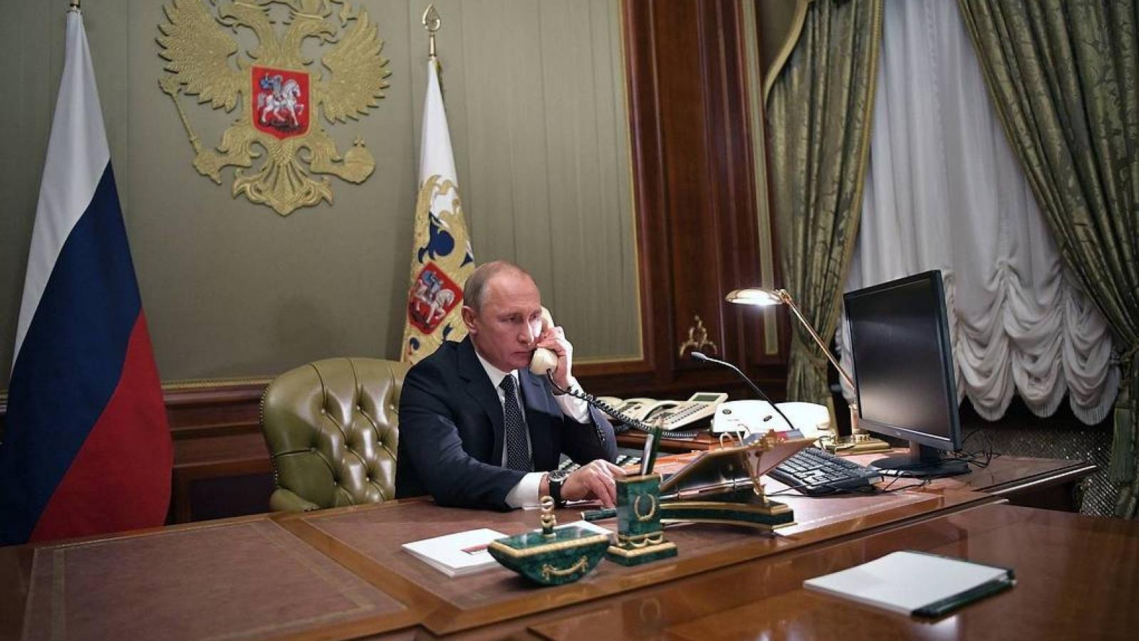 Lãnh đạo Nga-Thổ Nhĩ Kỳ điện đàm về tình hình ở Nagorno-Karabakh