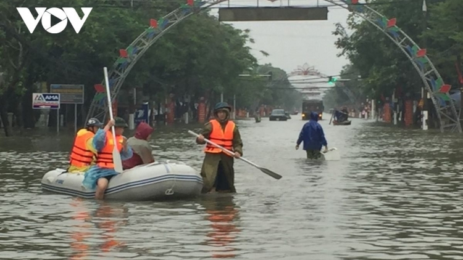 Hôm nay cả nước có mưa, Bắc Trung Bộ có mưa rất to