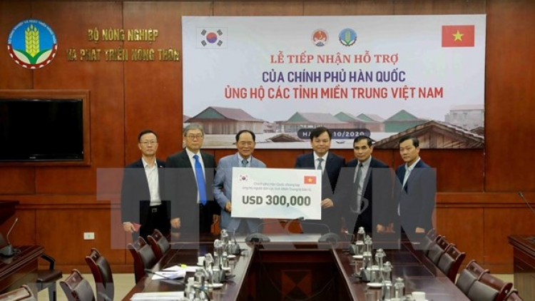 RoK offers 300,000 USD worth of cash relief to flood-hit central Vietnam