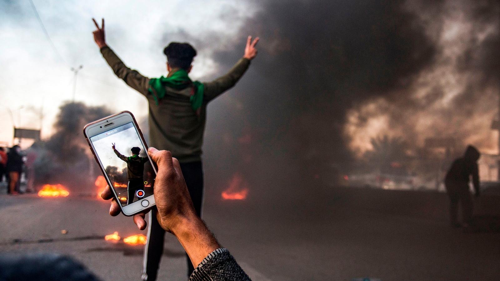 Cuộc chiến ở Syria và Iraq trong tương lai sẽ là trên điện thoại thông minh
