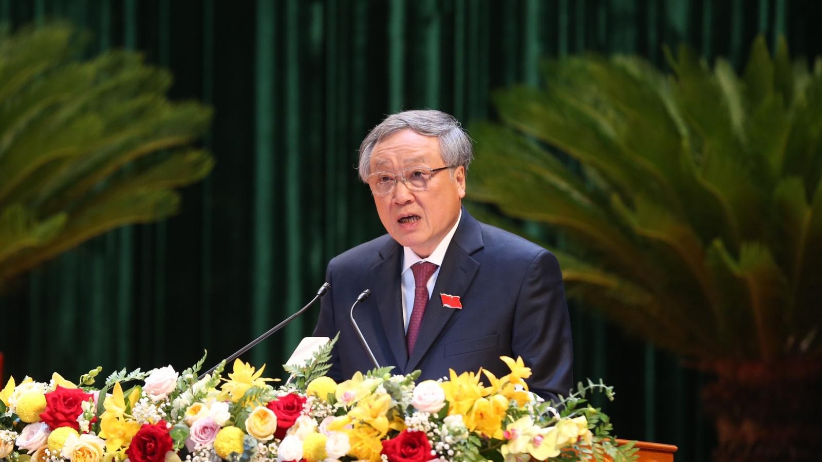 Bắc Giang cần đẩy mạnh phát triển kinh tế nhanh nhưng phải bền vững