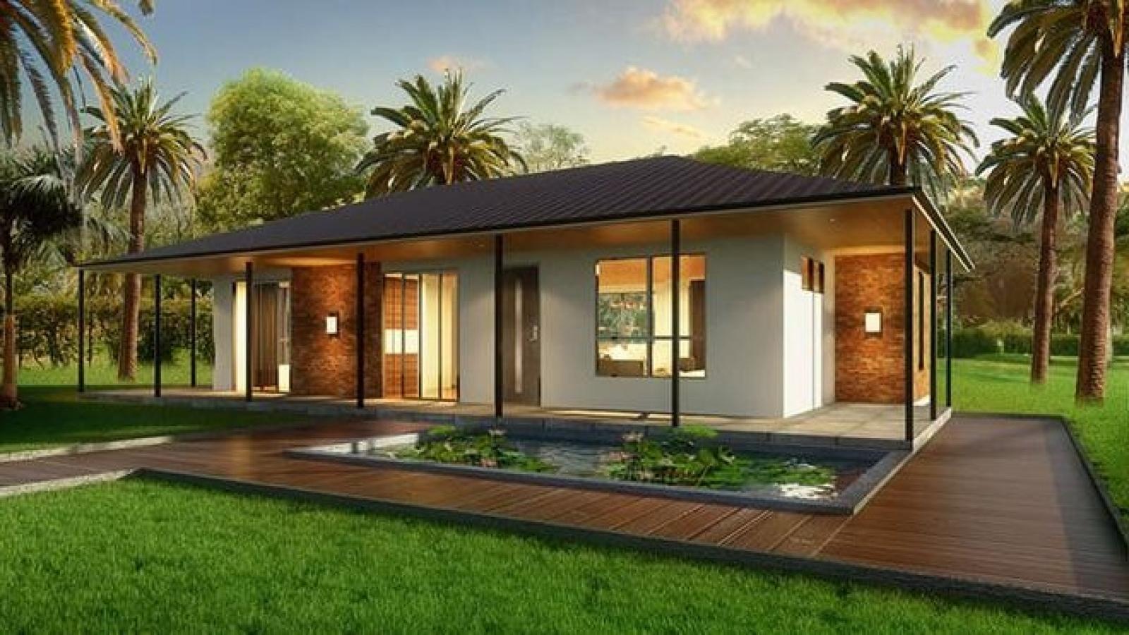 Chỉ cần bỏ ra 50 triệu đồng là đã có thể sở hữu một ngôi nhà đẹp mê ly