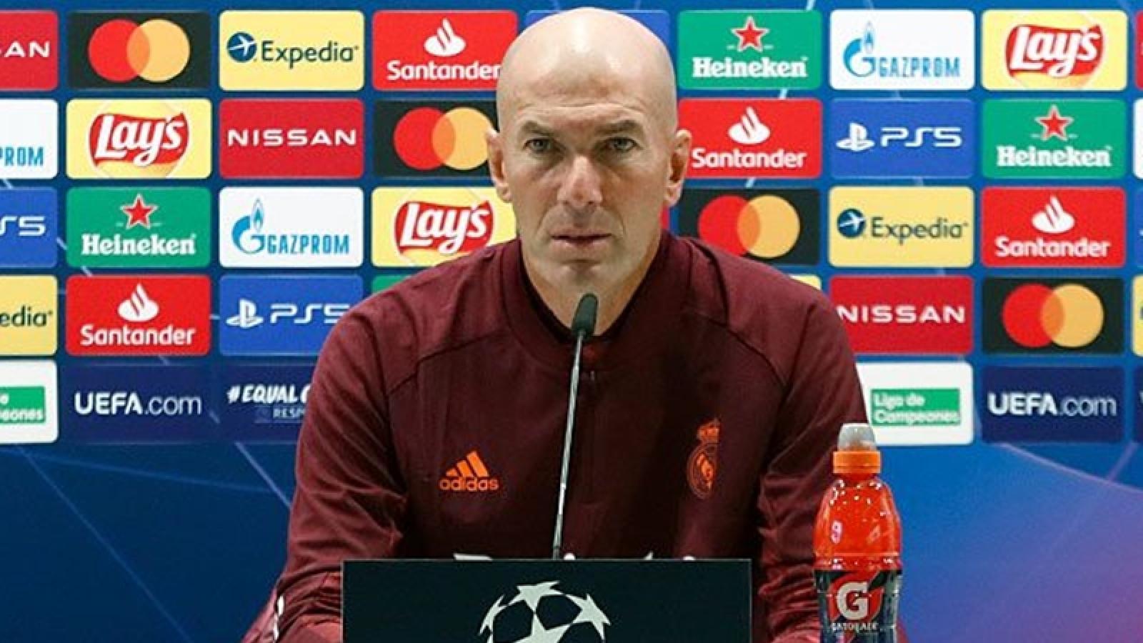 """Real Madrid - Shakhtar Donetsk: Zizou viết """"chiến thư"""" gửi đến Barca?"""