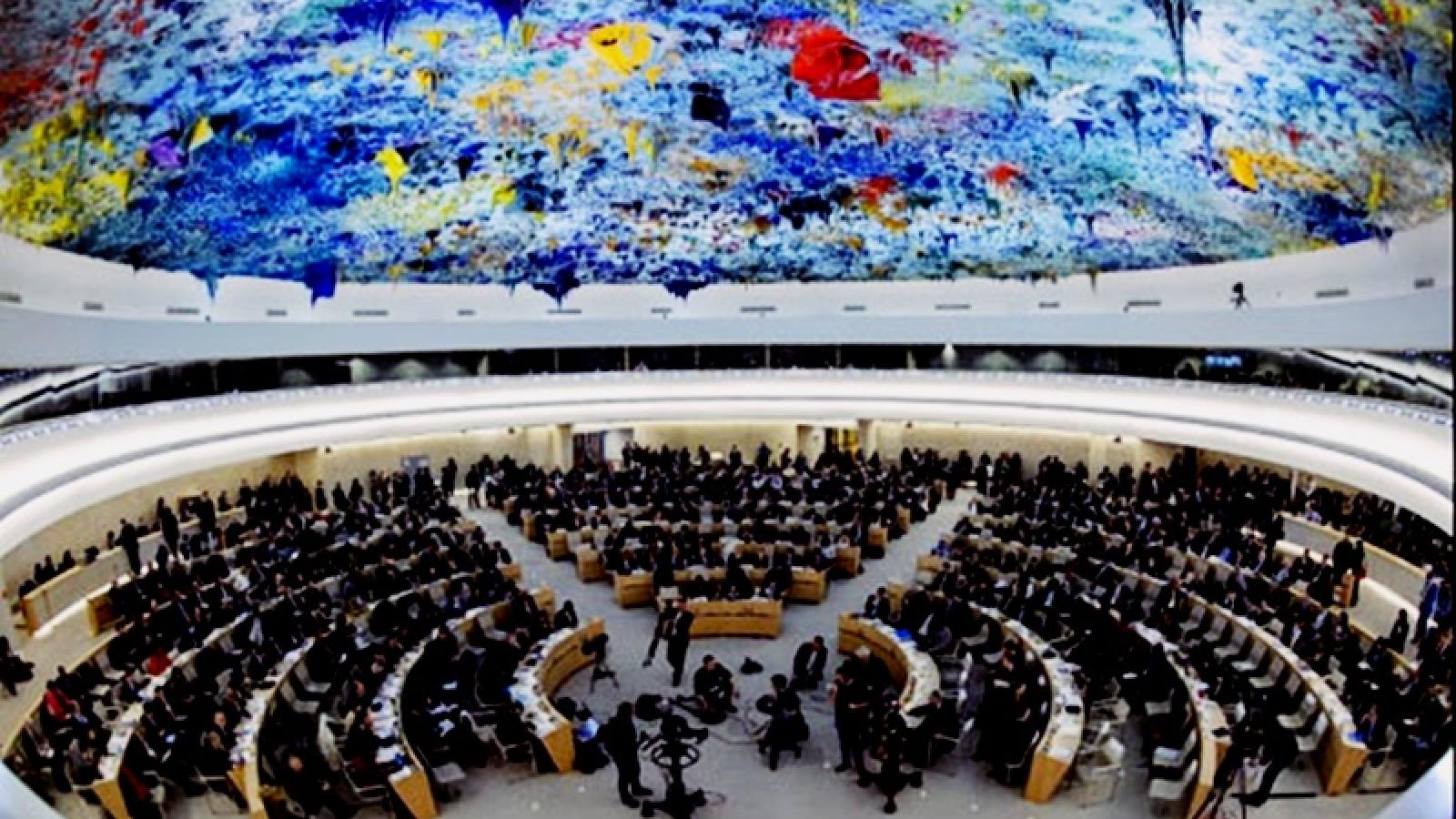 Đại diện 15 nước được bầu làm thành viên Hội đồng Nhân quyền Liên Hợp Quốc