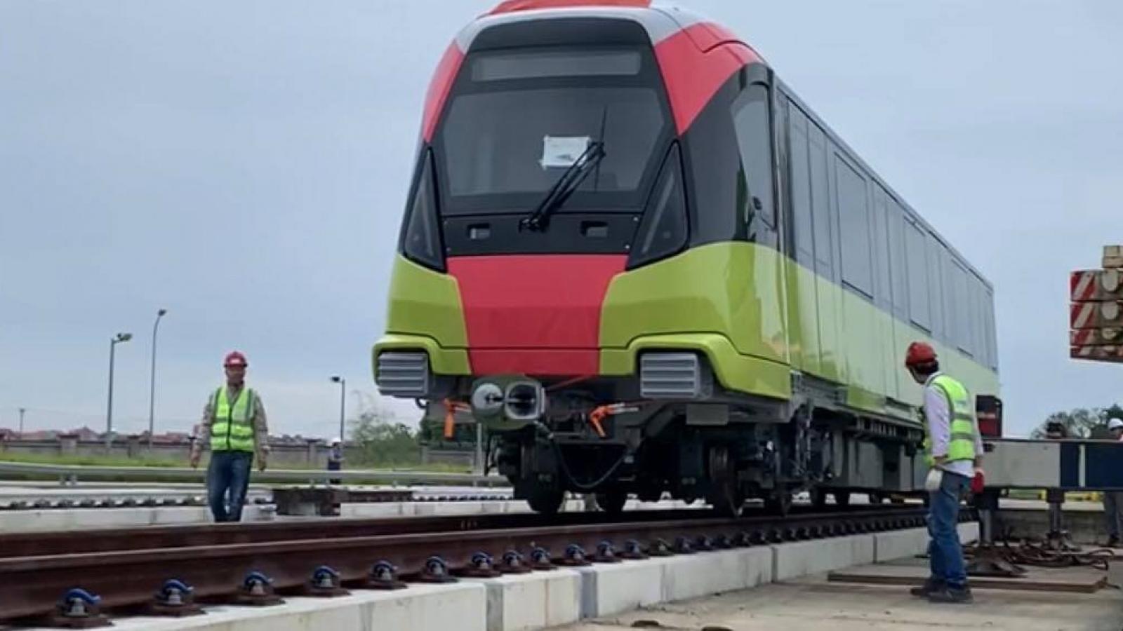 """Tàu Nhổn - ga Hà Nội bắt đầu chạy """"không tải"""", tháng 4/2021 sẽ chở khách?"""