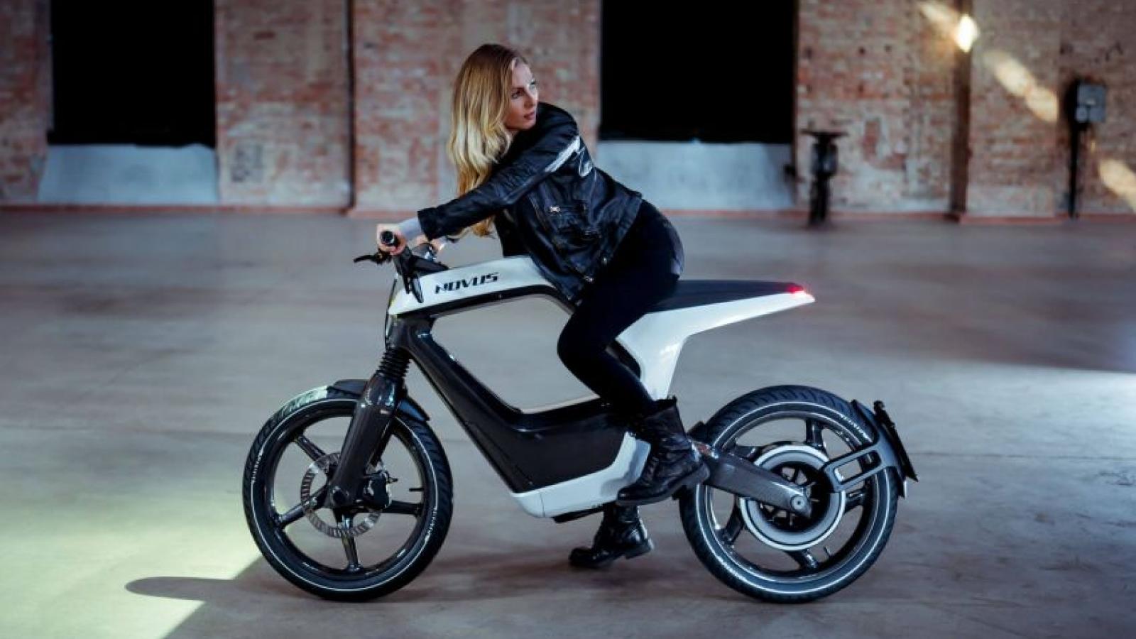 Khám phá xe máy điện Novus 2020 giá hơn 44.000 USD