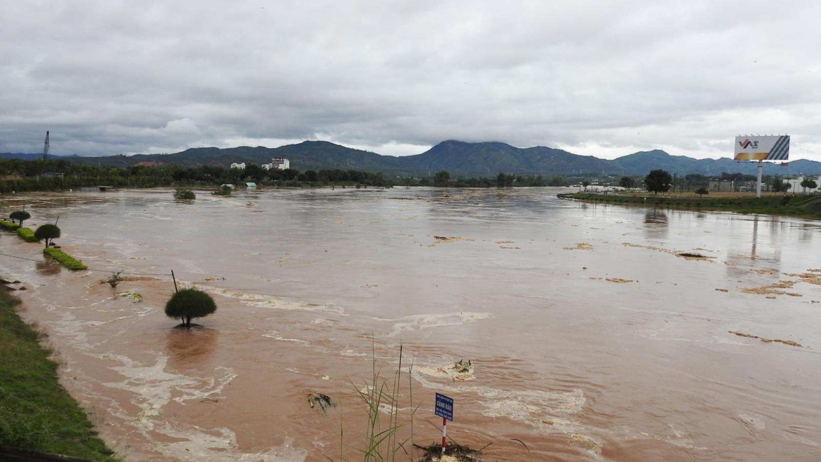 Kon Tum cử lực lượng túc trực ứng phó mưa lũ và sạt lở đất