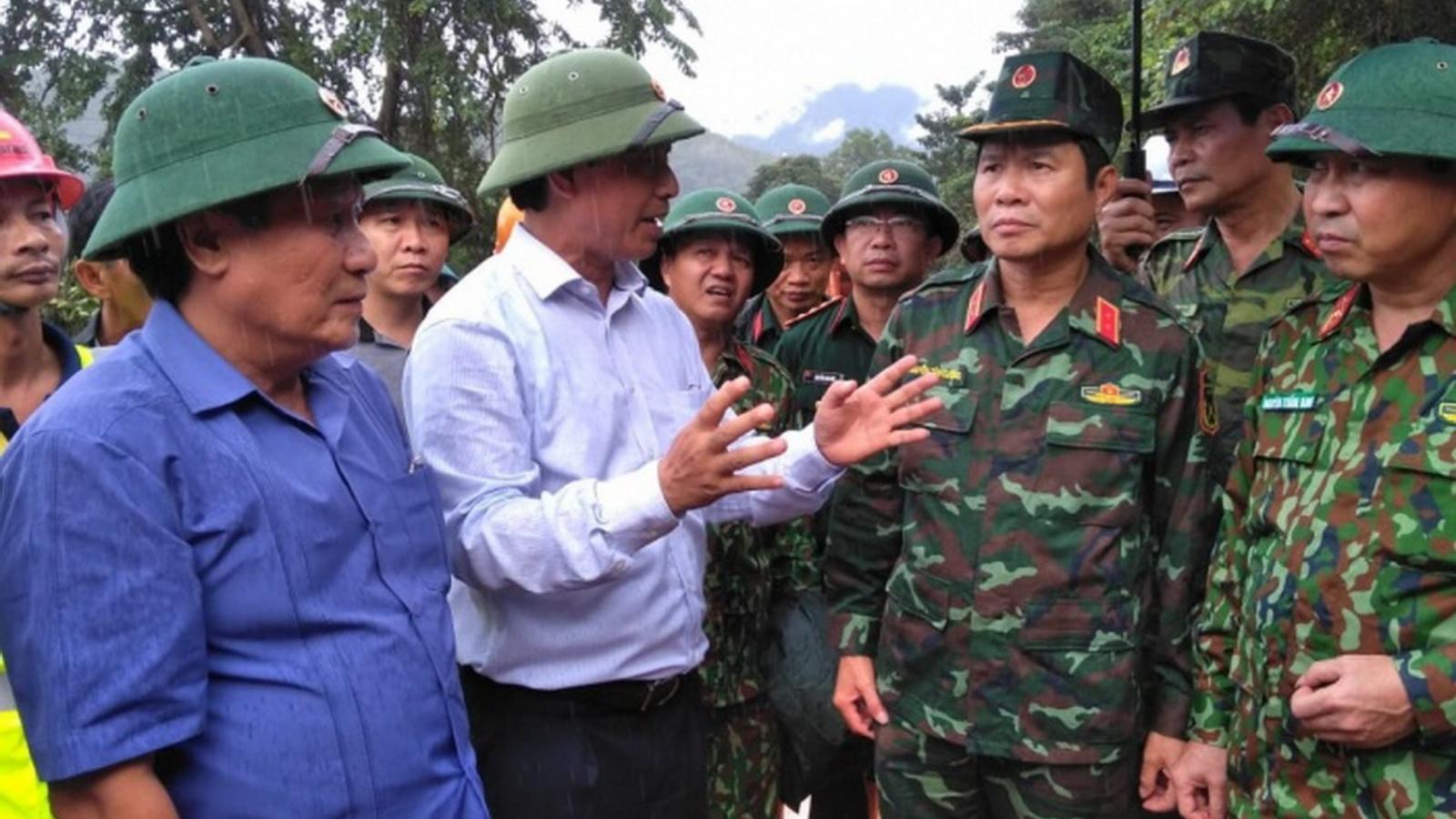 46 người thiệt mạng và mất tích do mưa lũ đặc biệt lớn tại Quảng Trị