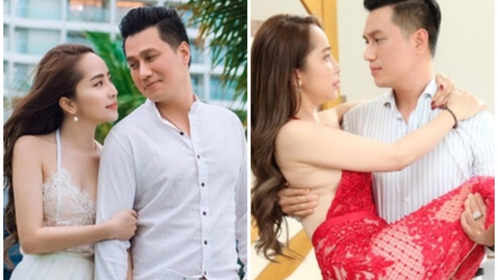 Quỳnh Nga lên tiếng về thông tin công khai tình cảm với bạn diễn Việt Anh