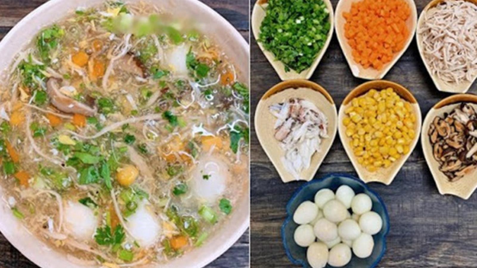 Hướng dẫn cách nấu súp gà nấm hương thơm ngon, bổ dưỡng
