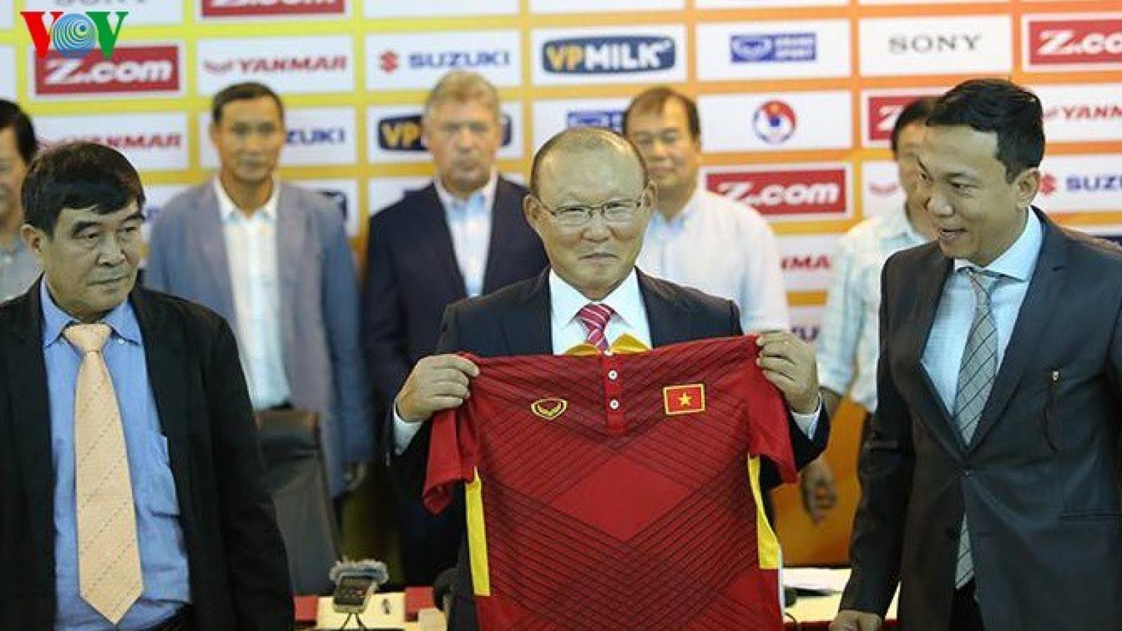 Ngày này năm xưa: HLV Park Hang Seo ra mắt ĐT Việt Nam