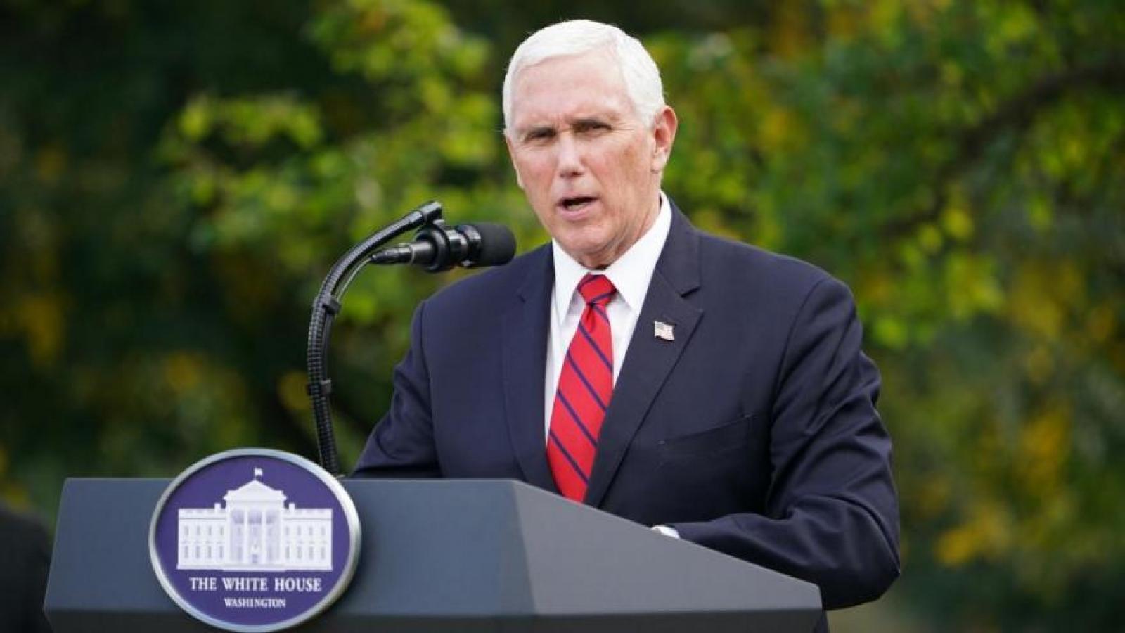 Cựu Phó Tổng thống Pence từ chối dự hội nghị có ông Trump tham dự