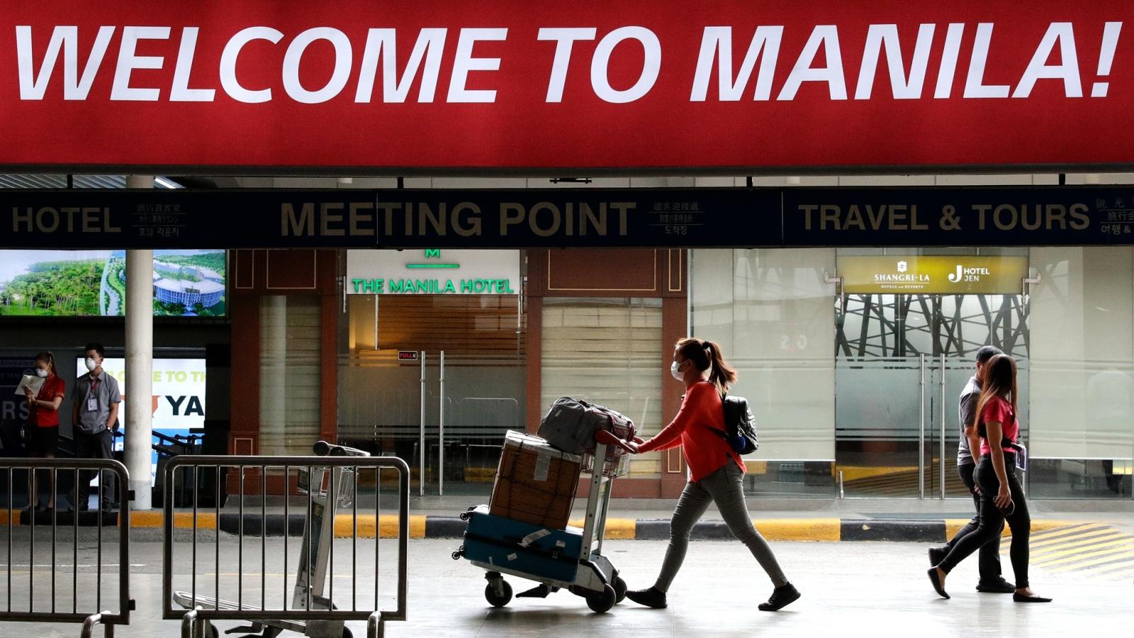 Philippines mở cửa nền kinh tế và nới lỏng các hạn chế đi lại