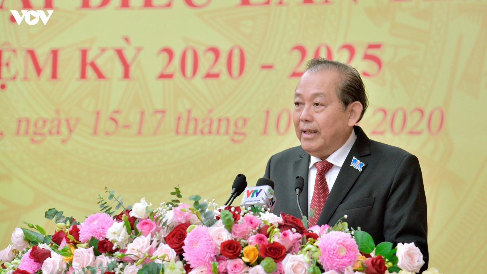 Phó Thủ tướng Trương Hoà Bình yêu cầu Kiên Giang tiếp tục thực hiện 3 đột phá chiến lược