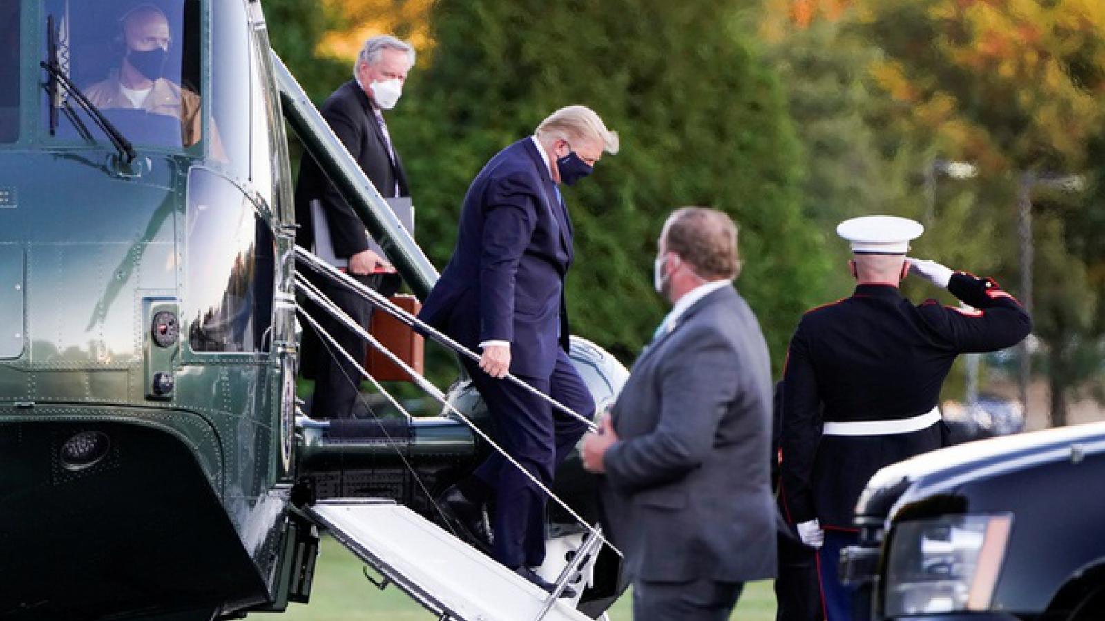 Xuất hiện thông tin trái chiều về tình hình sức khỏe của Tổng thống Trump