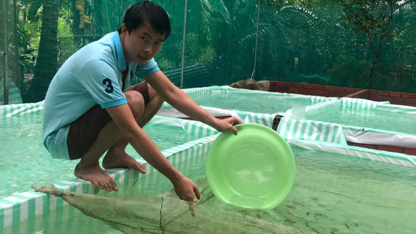 Kiếm 50 triệu đồng mỗi tháng từ nuôi cá cảnh