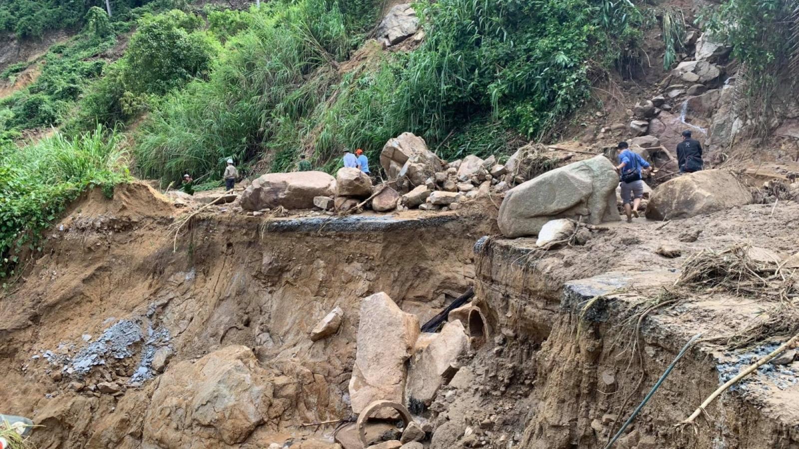 Quảng Nam khẩn trương tìm kiếm người mất tích tại Phước Sơn