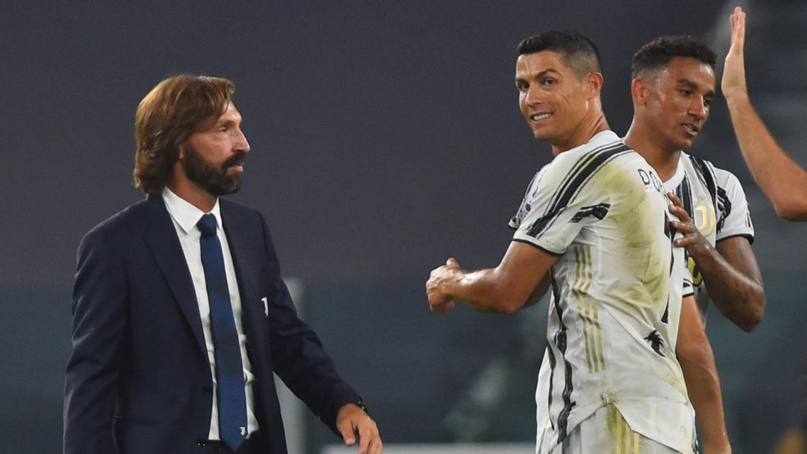 Andrea Pirlo trải lòng về cảm giác làm thầy của Cristiano Ronaldo