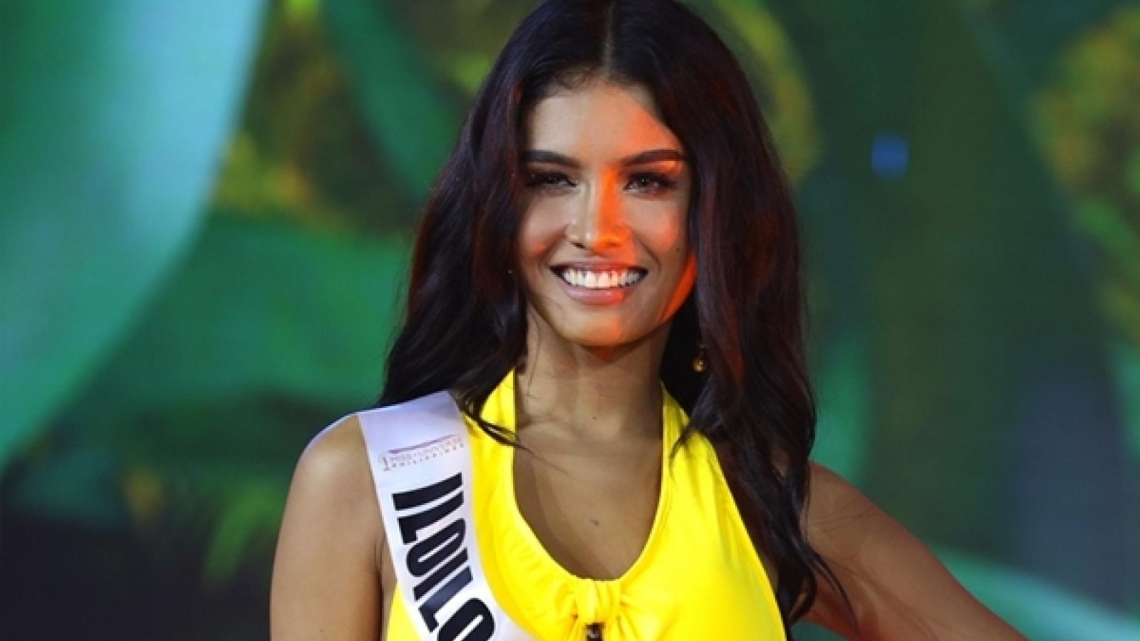 """""""Hoa mắt"""" với phần thi bikini của thí sinh Hoa hậu Hoàn vũ Philippines 2020"""