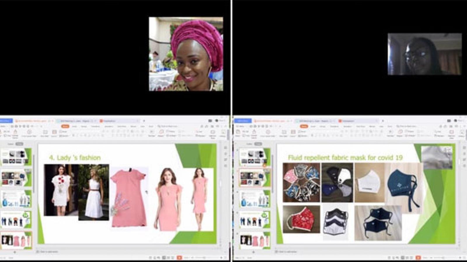 Sản phẩm thời trang Việt Nam được nhiều đối tác Nigeria quan tâm