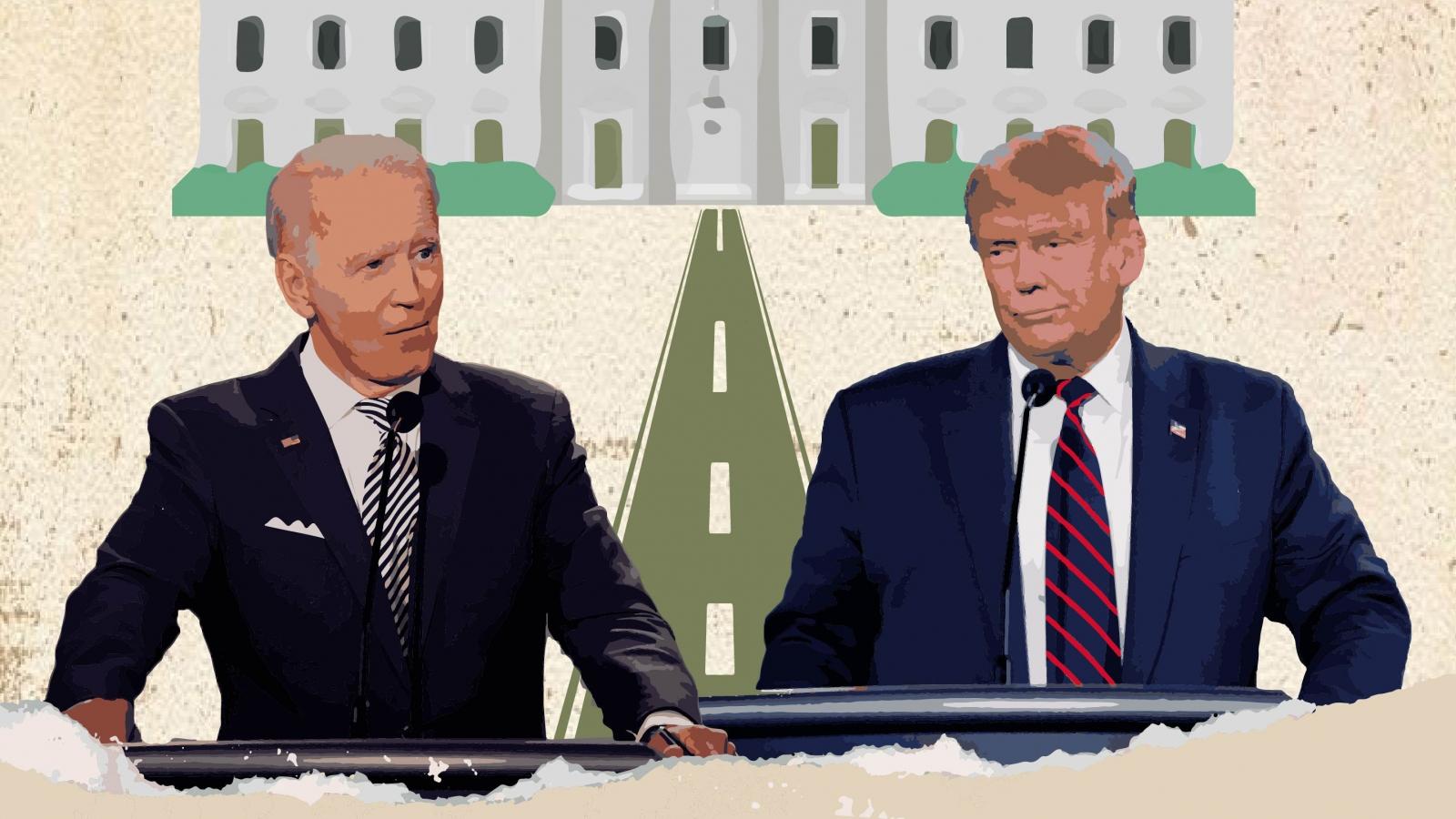 Chặng nước rút bầu cử Mỹ: Những ẩn số quyết định thành bại của Trump-Biden